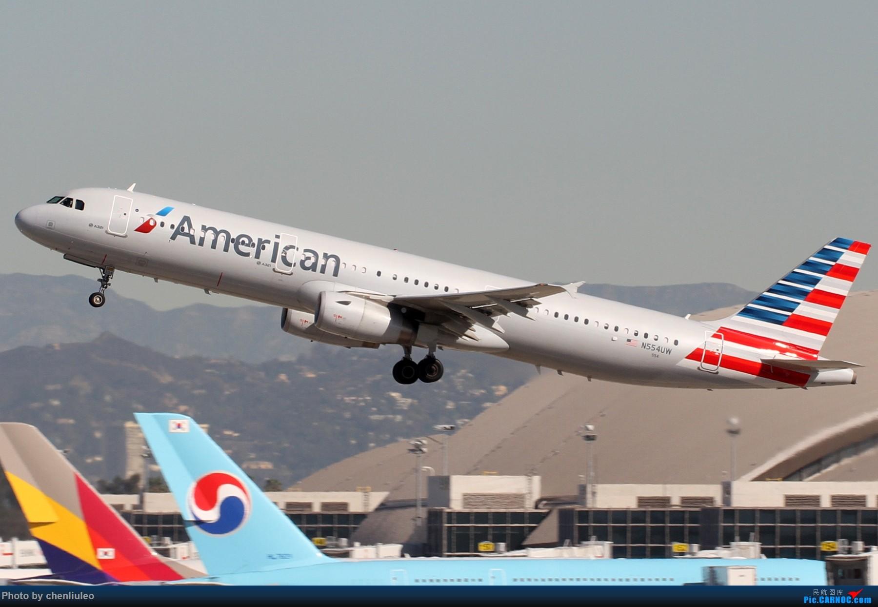 Re:[原创]【北美飞友会】LAX带地景起飞一组 AIRBUS A321-200 N554UW 美国洛杉矶机场