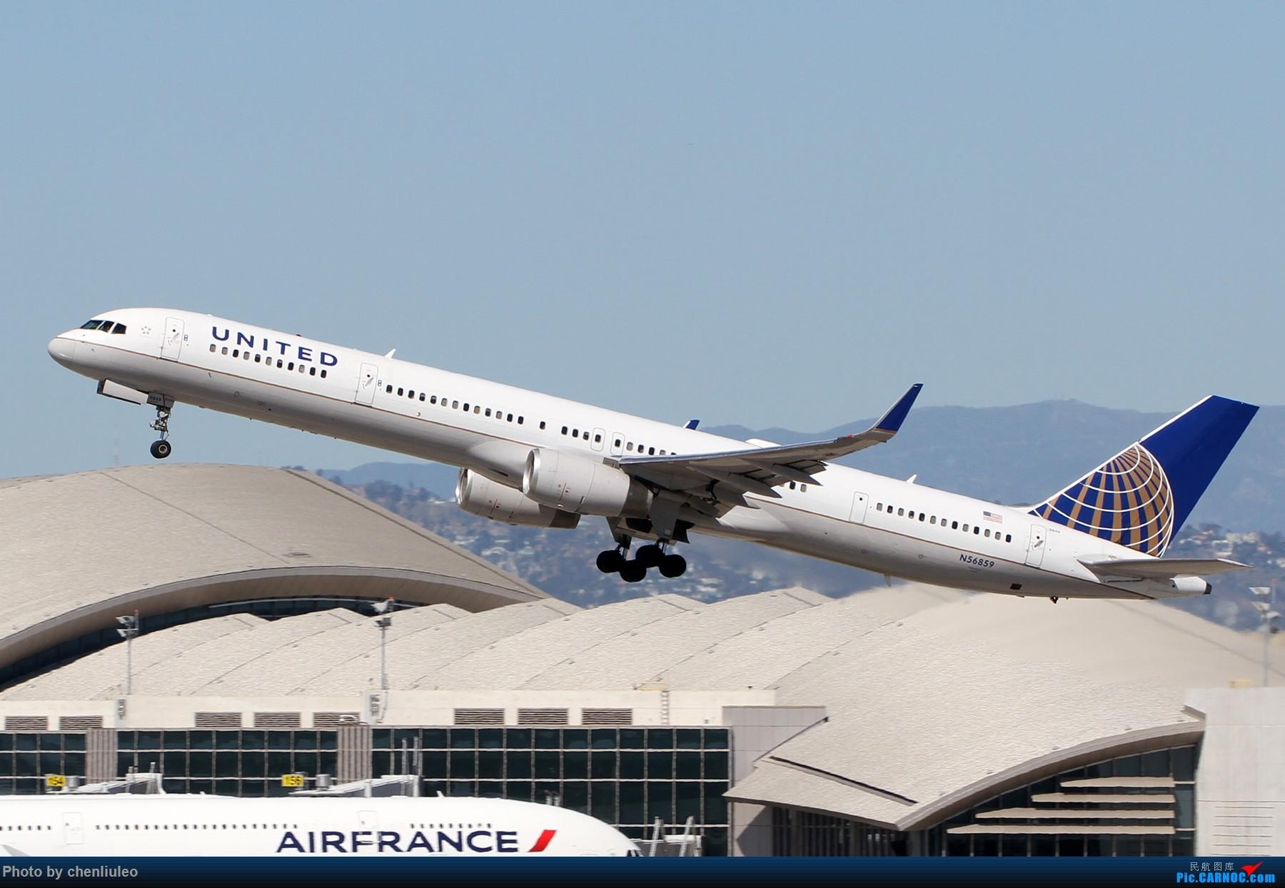 Re:[原创]【北美飞友会】LAX带地景起飞一组 BOEING 757-300 N56859 美国洛杉矶机场