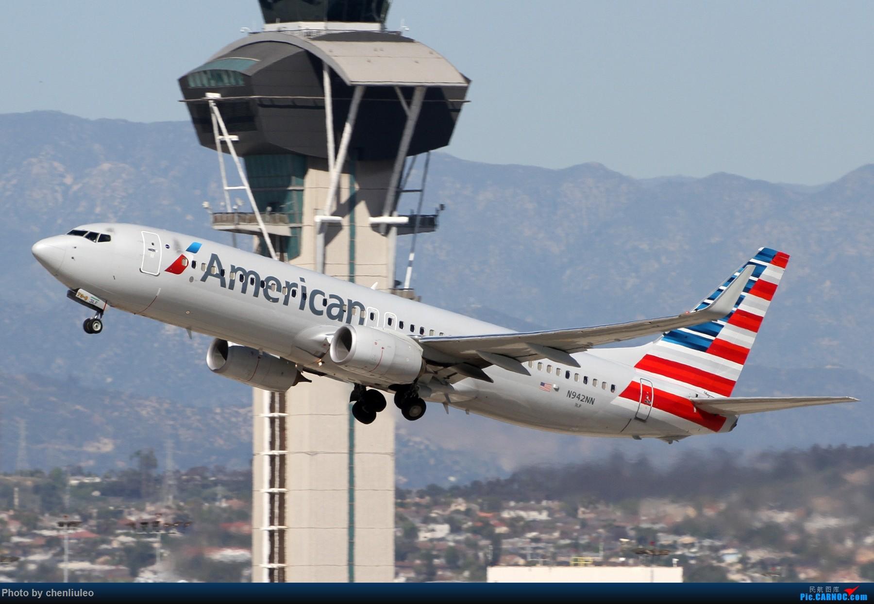 Re:[原创]【北美飞友会】LAX带地景起飞一组 BOEING 737-800 N942NN 美国洛杉矶机场