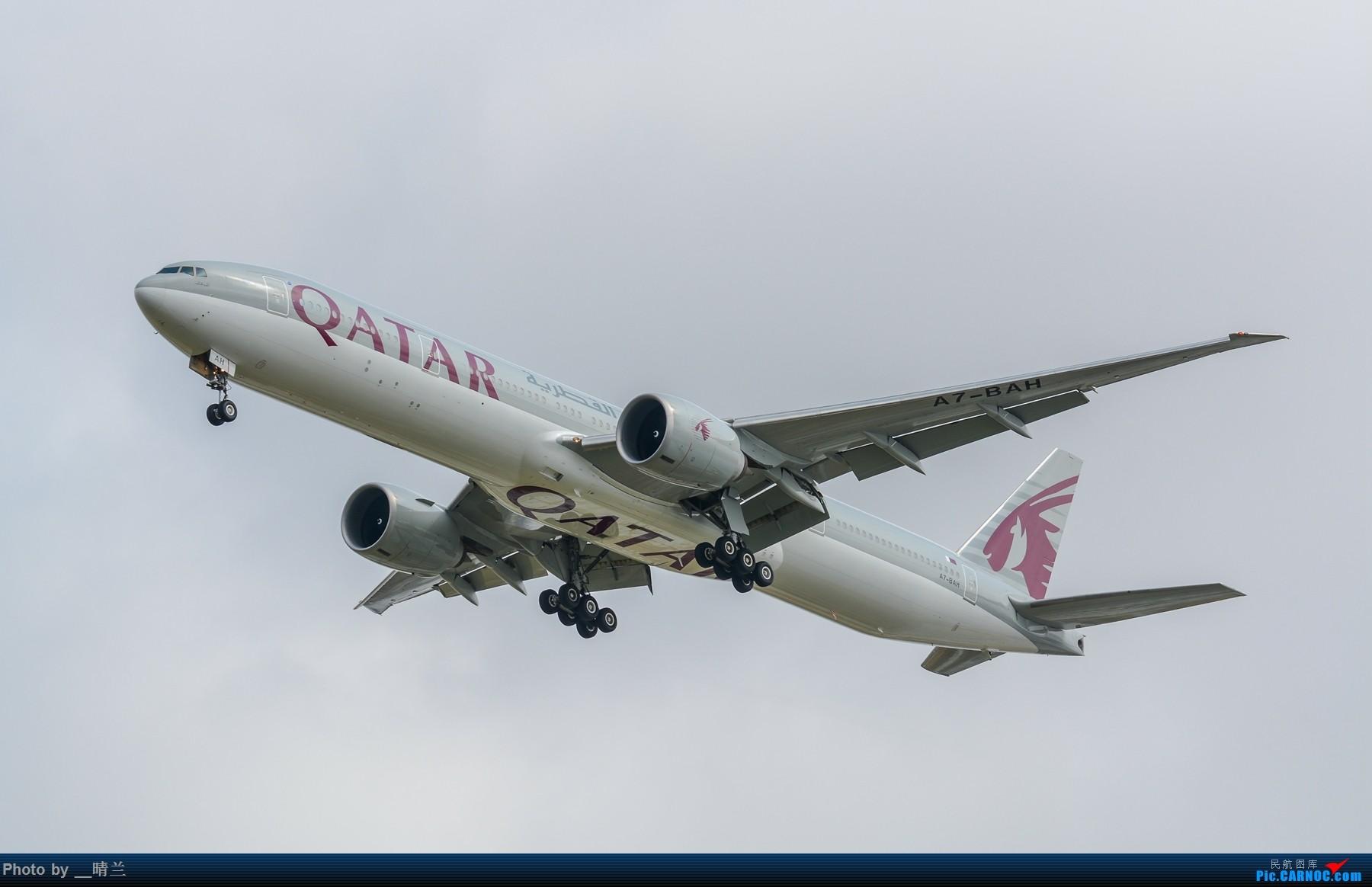 Re:[原创]【PVG】烂天普货,萌新的新鲜感 BOEING 777-300ER A7-BAH 中国上海浦东国际机场
