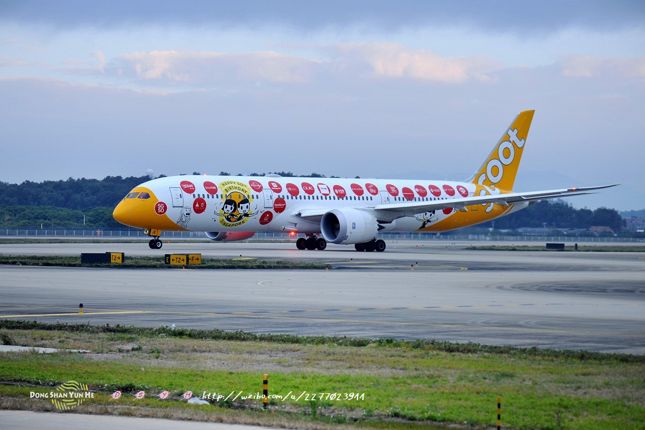 Re:[原创]记录曾经拍过的787 BOEING 787-9 9V-OJE 中国广州白云国际机场