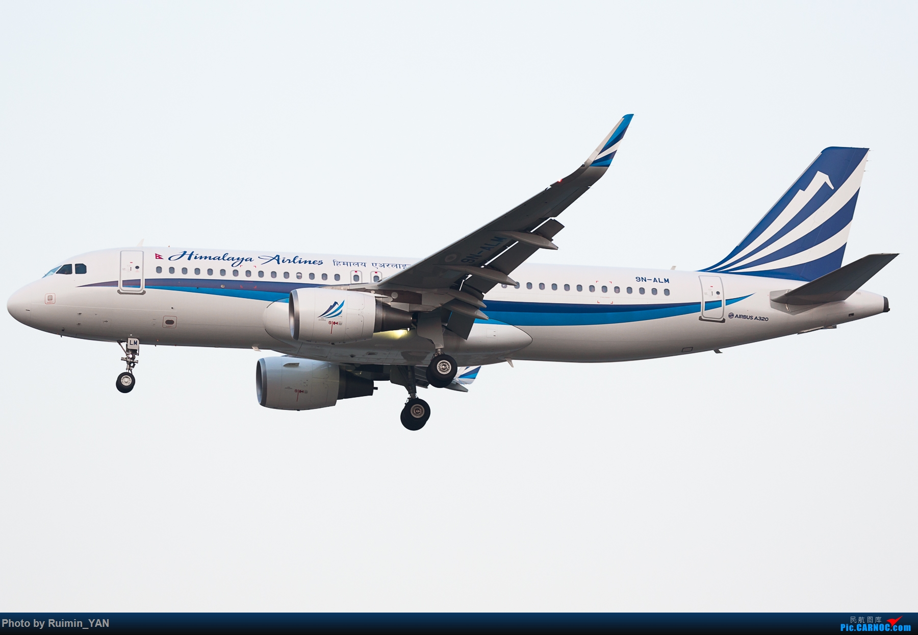 [原创]【PEK飞友会】【首发】尼泊尔总理奥利今起访华,并出席博鳌亚洲论坛年会,乘坐喜马拉雅航空(Himalaya Airlines,H91,HIM001) AIRBUS A320-200 9N-ALM 中国北京首都国际机场