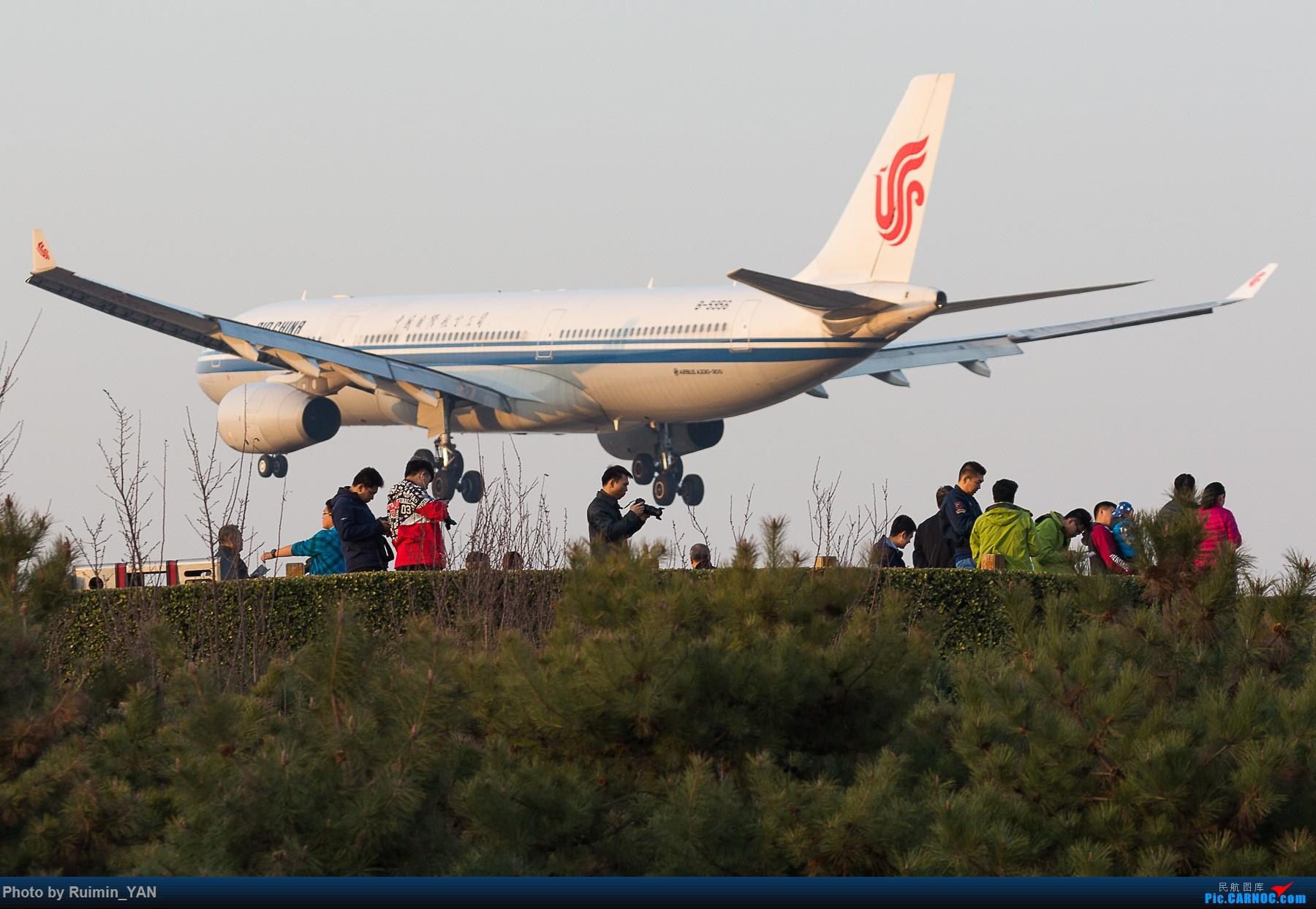 Re:[原创]【PEK飞友会】八卦台上的拍飞机的人们被强势剃头 AIRBUS A330-300 B-5956 中国北京首都国际机场