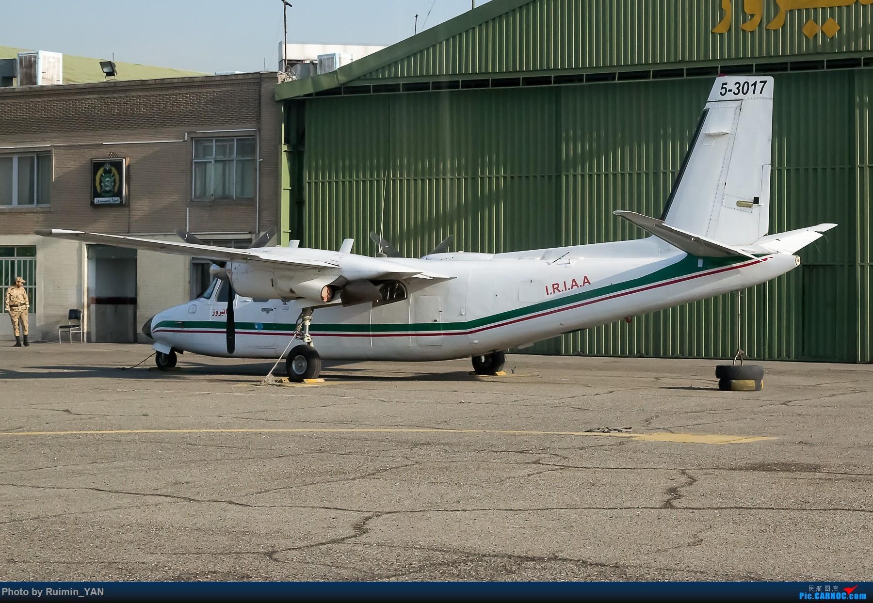 【THR】(德黑兰梅赫拉巴德机场)伊朗空军--Rockwell 690A Turbo Commander ROCKWELL 690A TURBO COMMANDER 5-3017 伊朗德黑兰机场