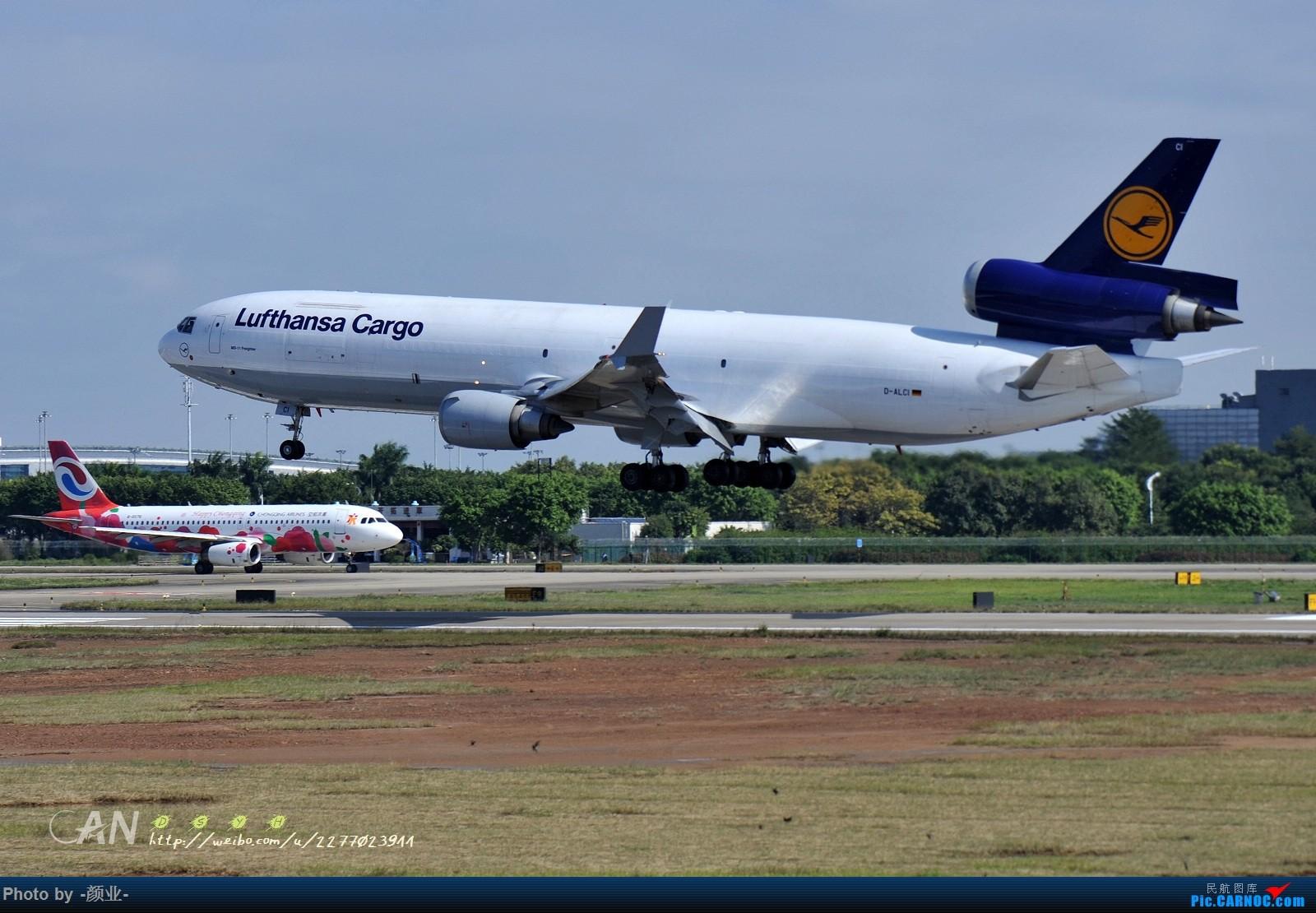 Re:[原创]2011-2016我的打灰机心情[广州] MD MD-11 D-ALCI 中国广州白云国际机场