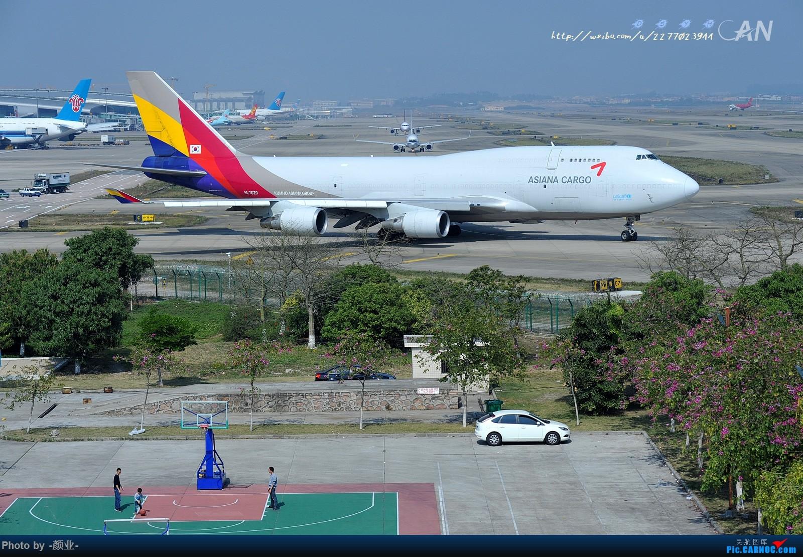 Re:[原创]2011-2016我的打灰机心情[广州] BOEING 747-400 HL-7620 中国广州白云国际机场