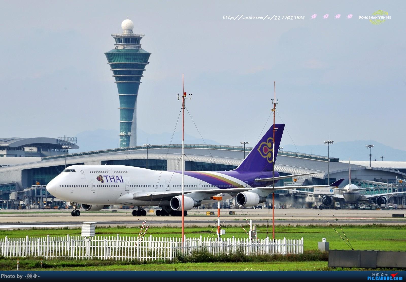 Re:[原创]2011-2016我的打灰机心情[广州] BOEING 747-400 HS-TGY 中国广州白云国际机场