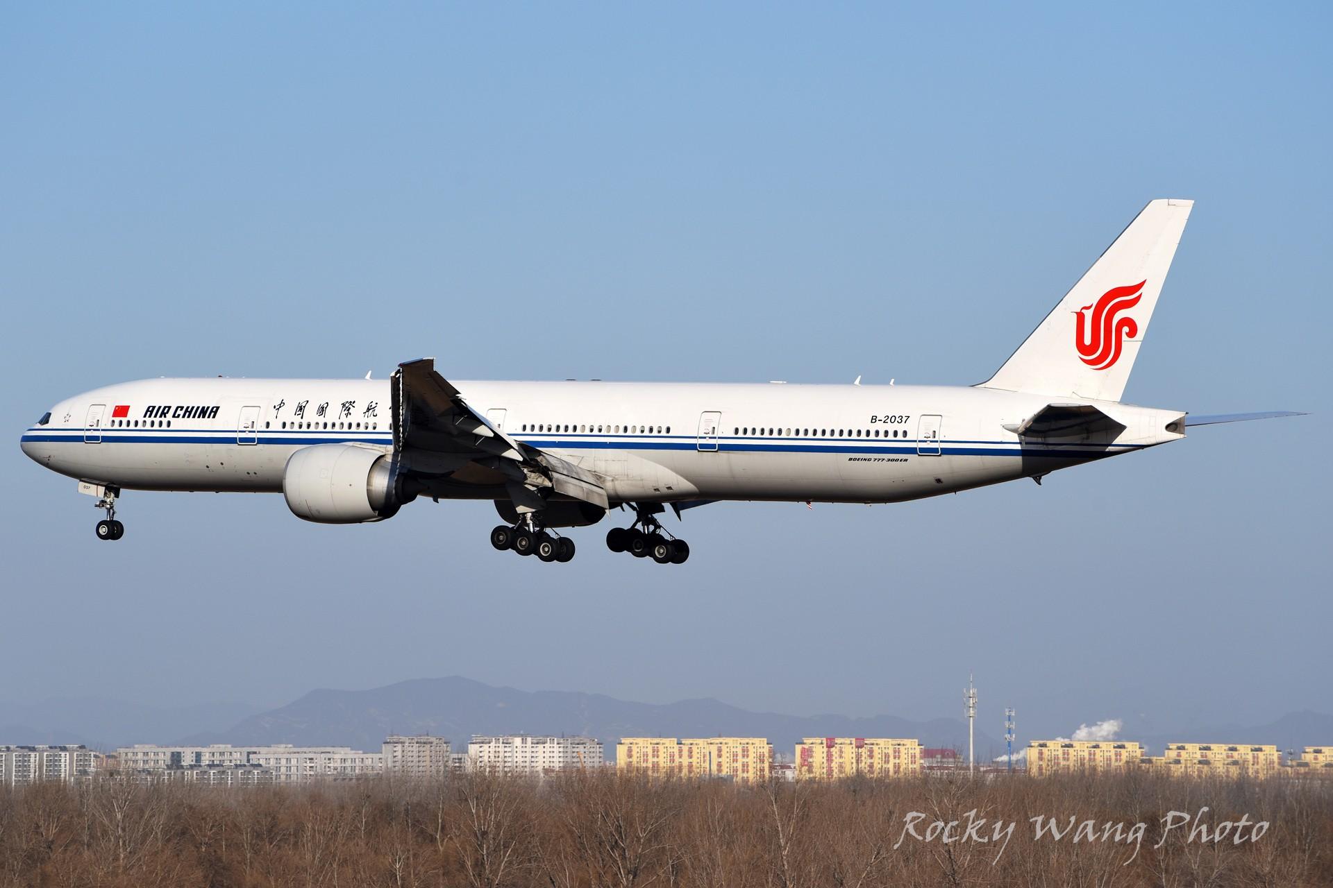 Re:[原创]杂图20张 BOEING 777-300ER B-2037 中国北京首都国际机场