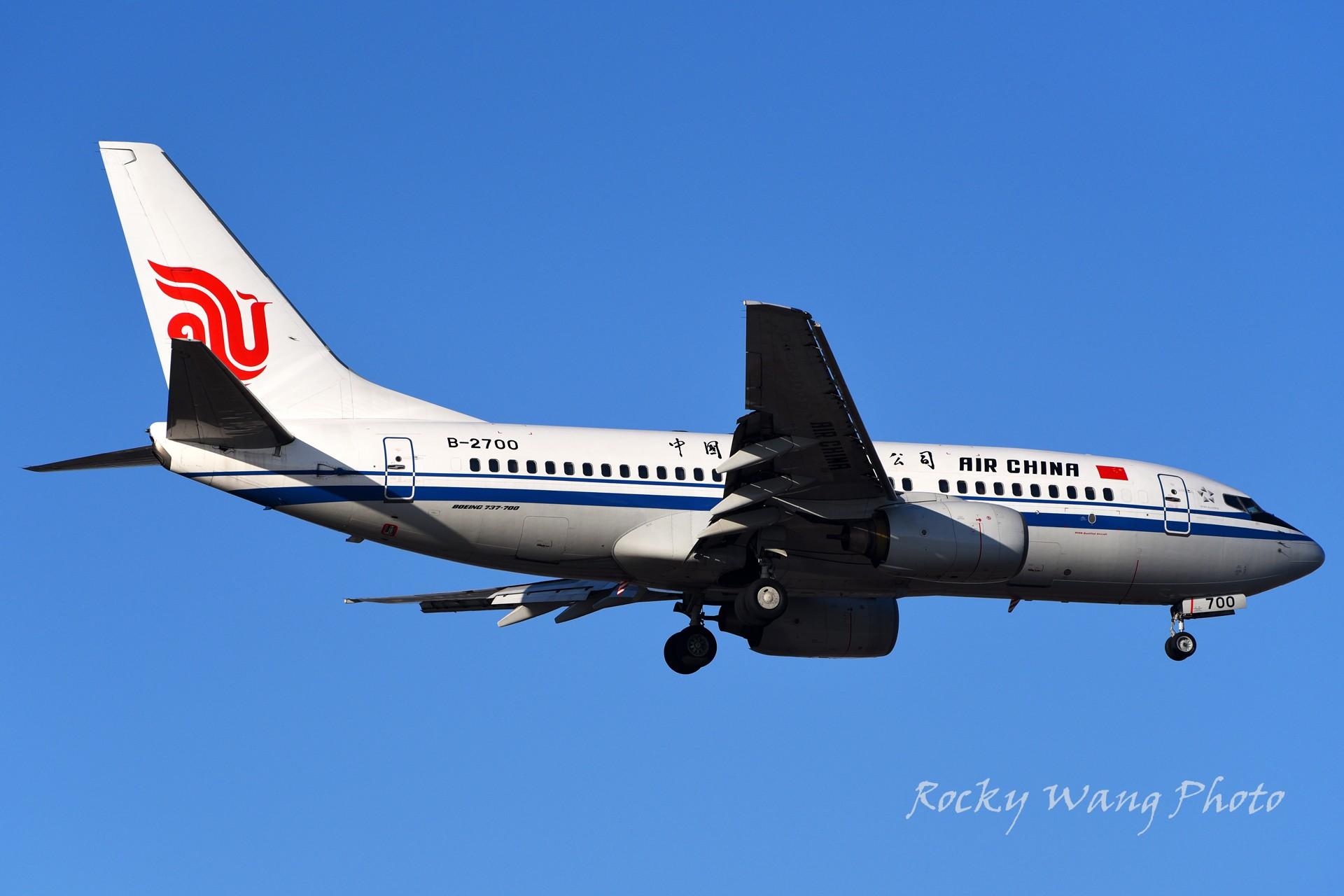 Re:[原创]杂图20张 BOEING 737-700 B-2700 中国北京首都国际机场