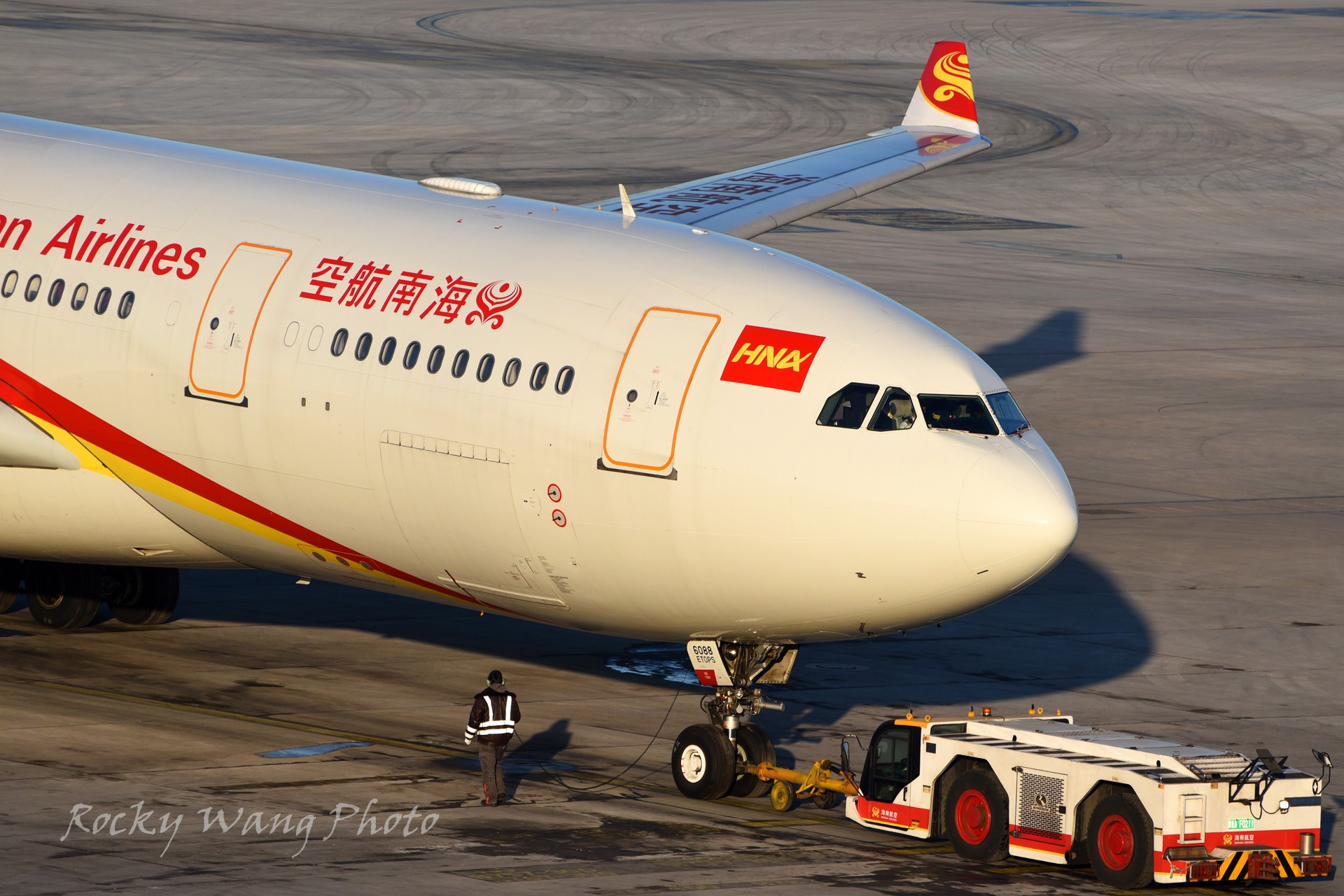 Re:[原创]杂图20张 AIRBUS A330-200 B-6088 中国北京首都国际机场