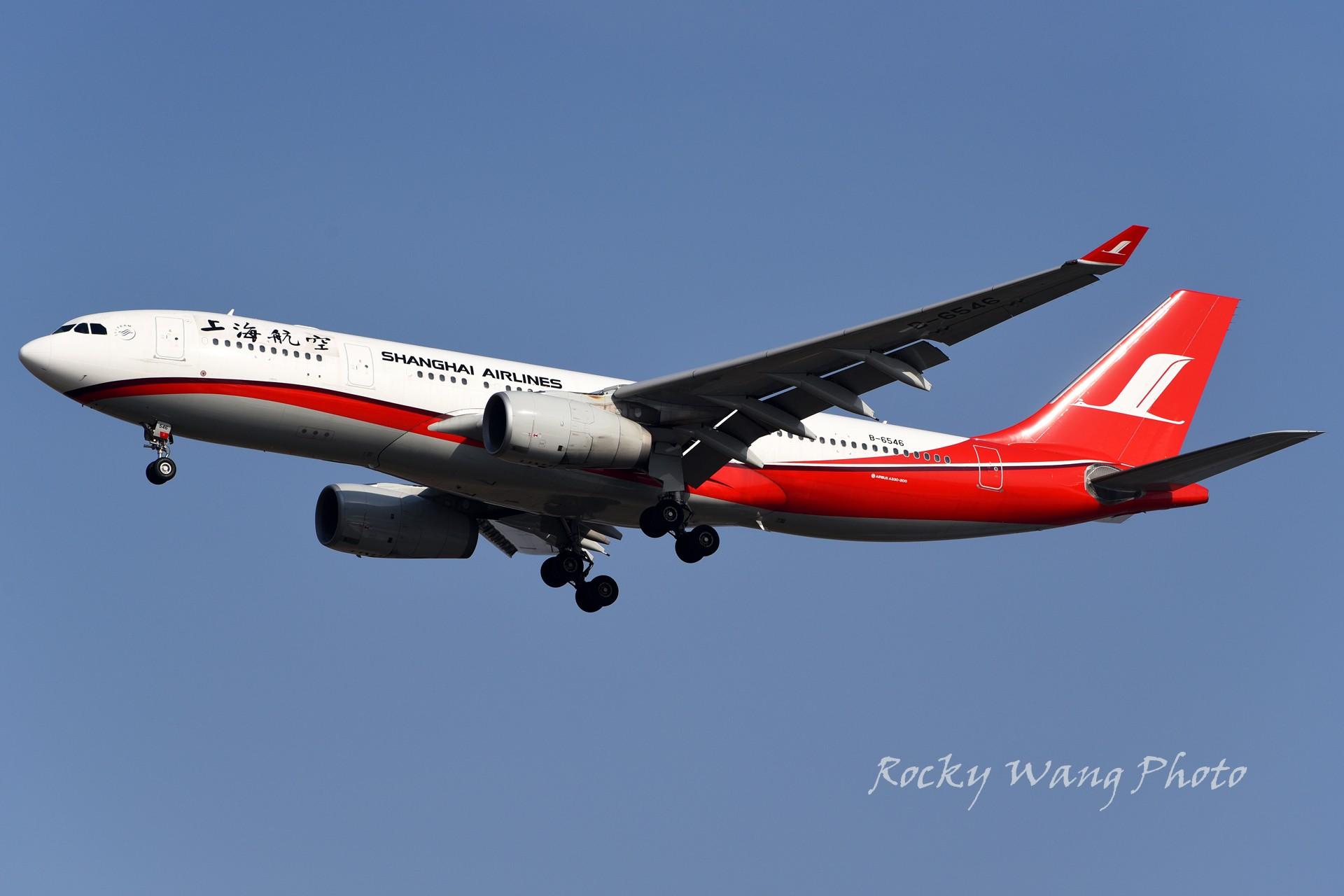 Re:[原创]杂图20张 AIRBUS A330-200 B-6546 中国上海浦东国际机场