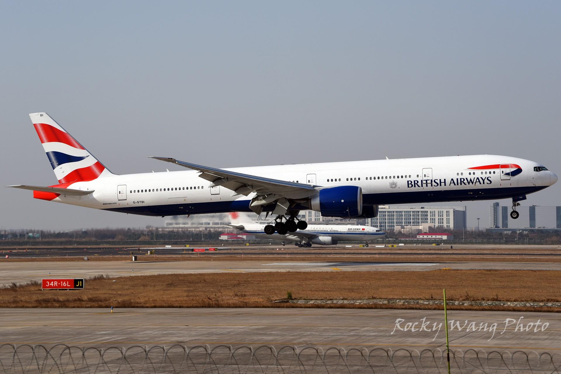 Re:[原创]杂图20张 BOEING 777-300ER G-STBI 中国上海浦东国际机场