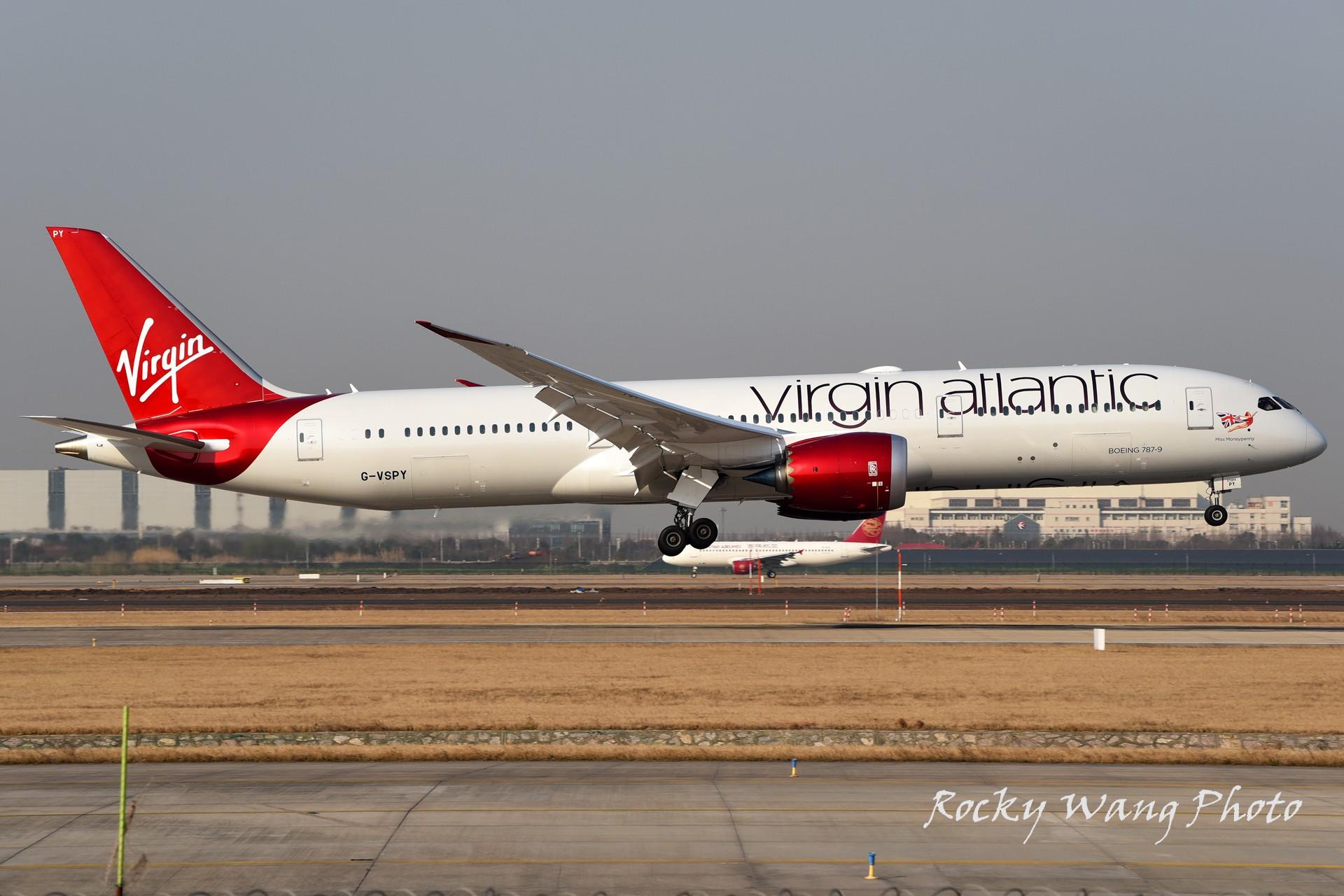 Re:[原创]杂图20张 BOEING 787-9 G-VSPY 中国上海浦东国际机场