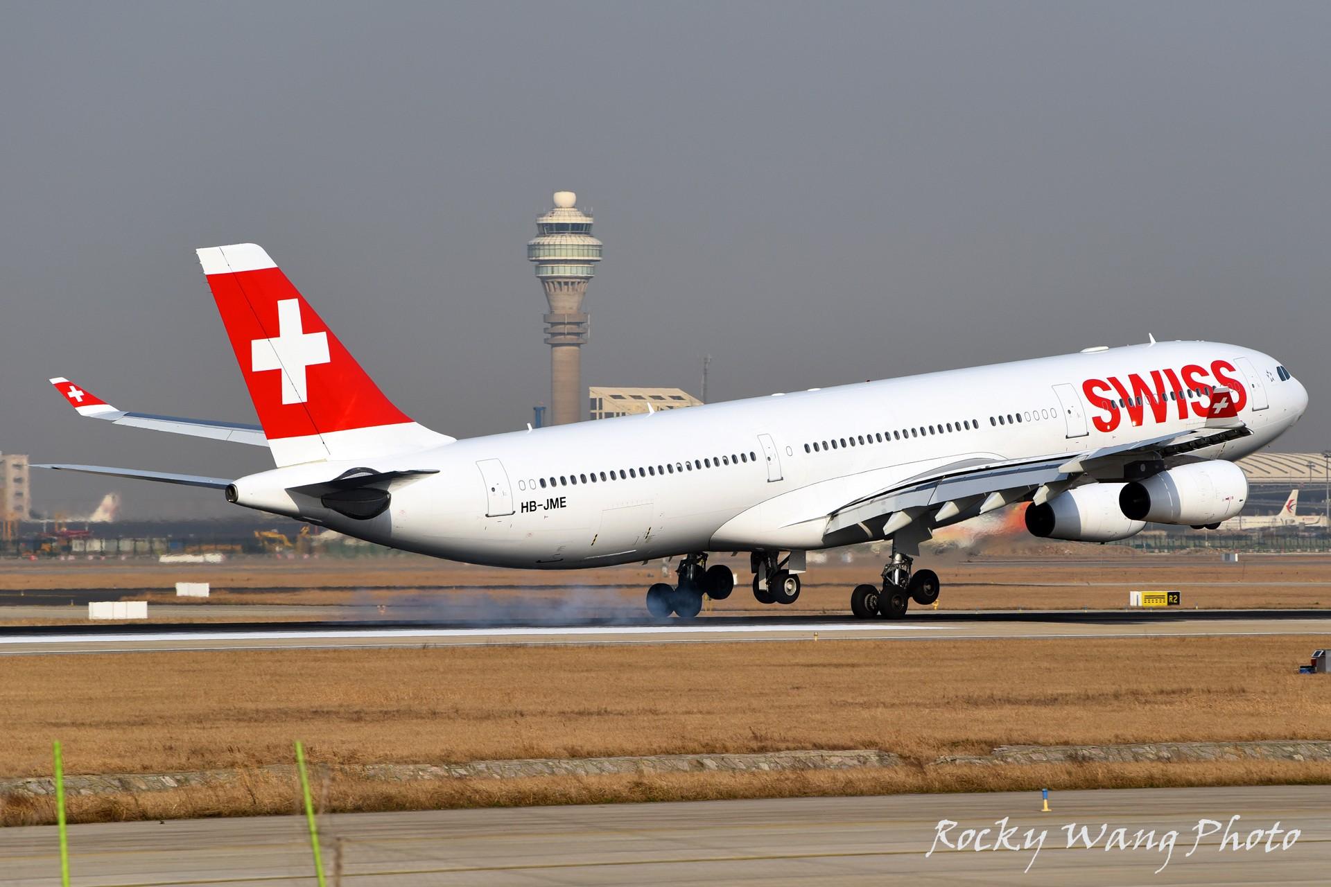 Re:[原创]杂图20张 AIRBUS A340-300 HB-JME 中国上海浦东国际机场