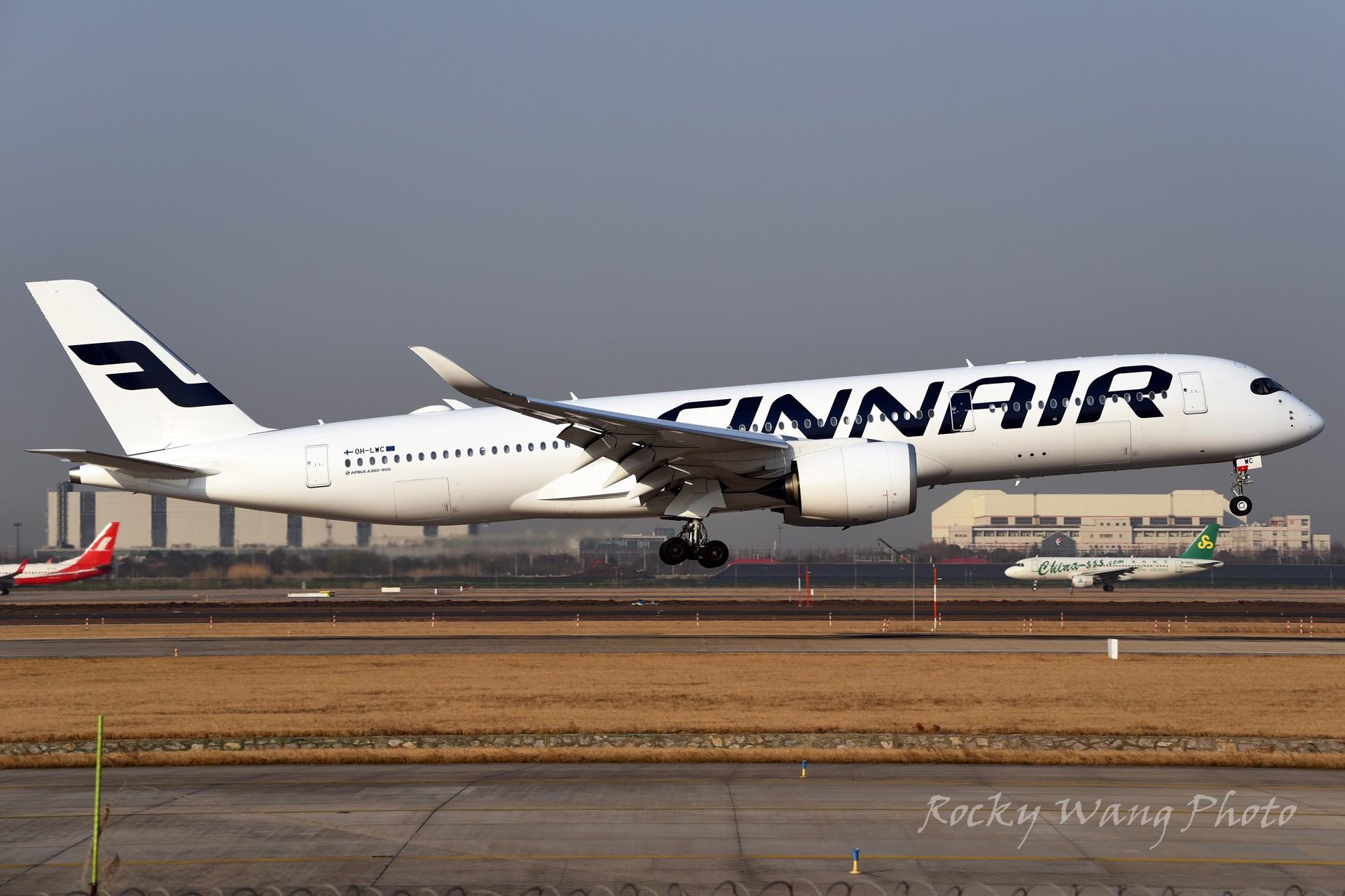 Re:[原创]杂图20张 AIRBUS A350-900 OH-LWC 中国上海浦东国际机场