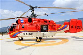 Re:海直通航K-32直升機麗江白沙直升機場作業