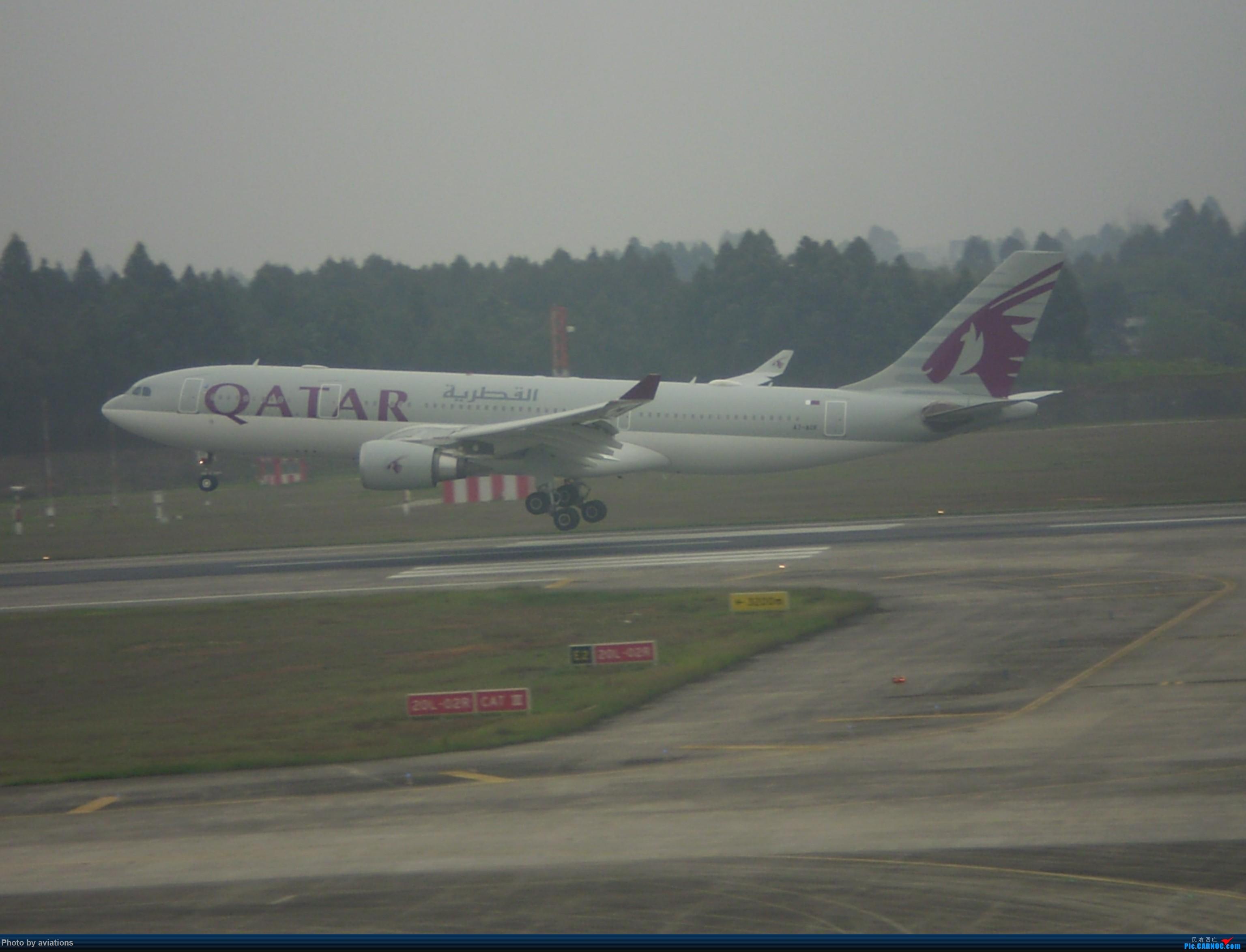 Re:[原创]3月26日CTU大杂烩 AIRBUS A320-200 A7-ACF 中国成都双流国际机场
