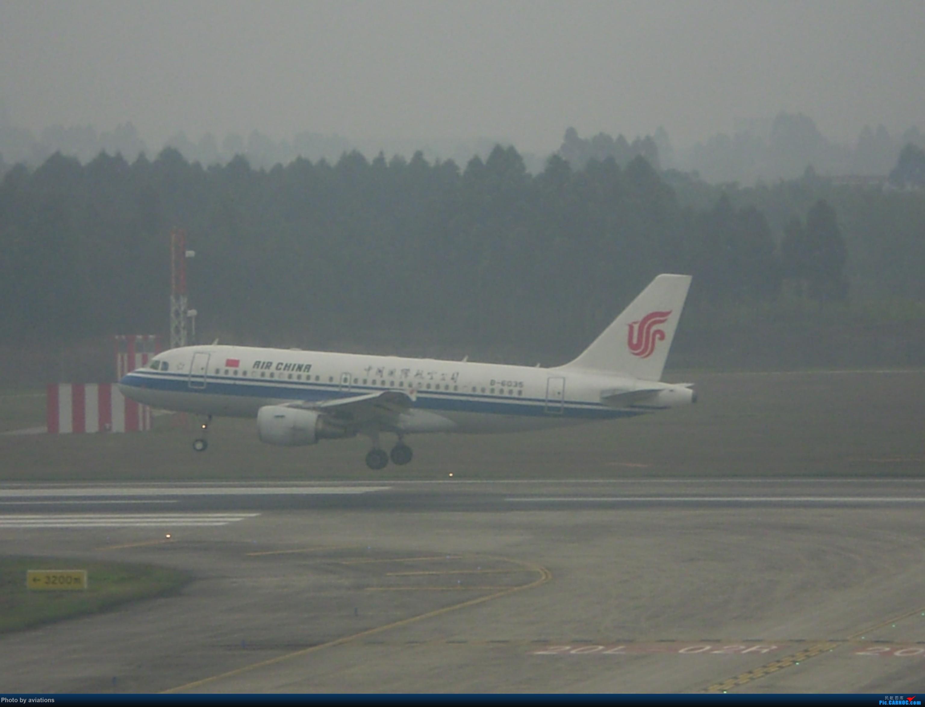 Re:[原创]3月26日CTU大杂烩 AIRBUS A319-100 B-6035 中国成都双流国际机场