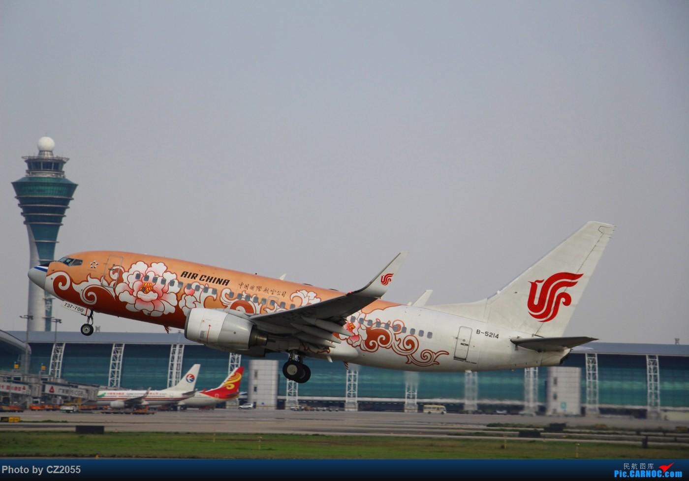 Re:[原创]Re:[原创]【广东青少年拍机小队】【C-Z-2055】一个下午的起起落落[20pics] 更新中... BOEING 737-700 B-5214 中国广州白云国际机场