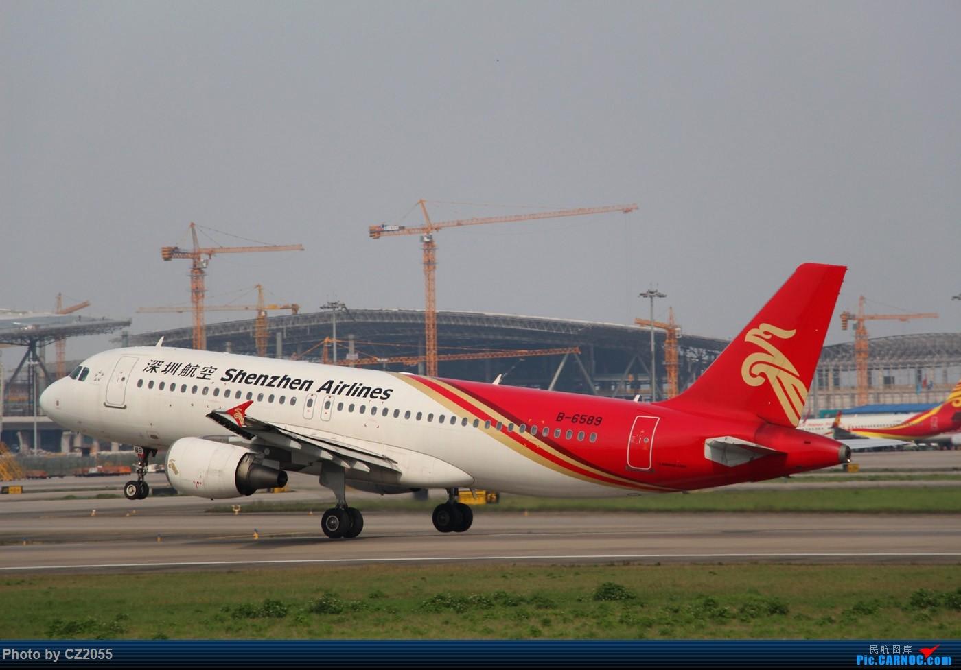 Re:[原创]Re:[原创]【广东青少年拍机小队】【C-Z-2055】一个下午的起起落落[20pics] 更新中... AIRBUS A320-200 B-6589 中国广州白云国际机场