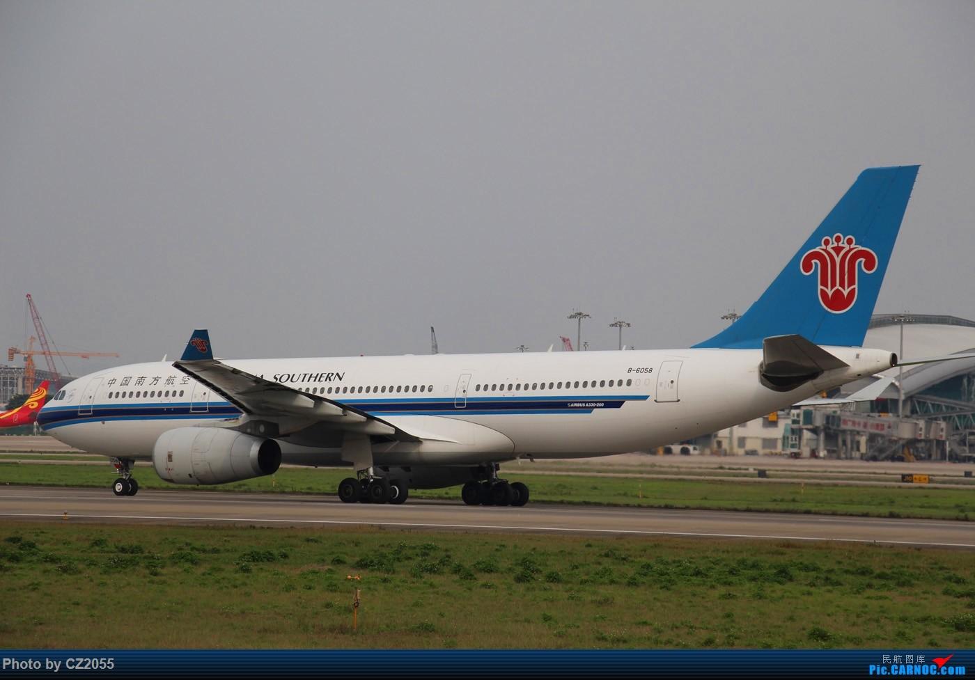 Re:[原创]Re:[原创]【广东青少年拍机小队】【C-Z-2055】一个下午的起起落落[20pics] 更新中... AIRBUS A330-200 B-6058 中国广州白云国际机场