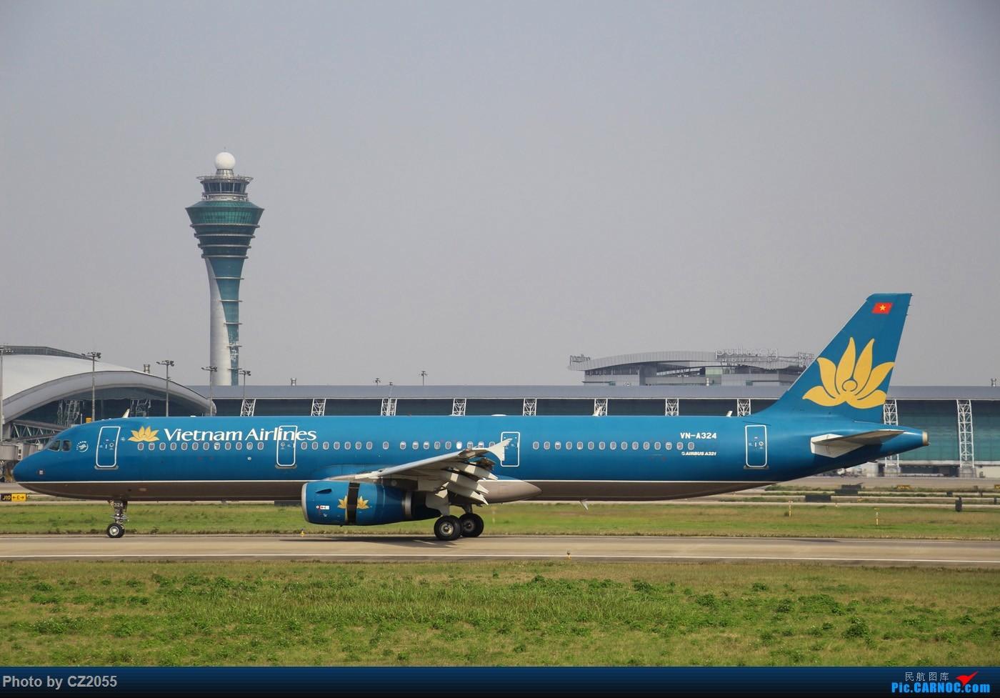 Re:[原创]Re:[原创]【广东青少年拍机小队】【C-Z-2055】一个下午的起起落落[20pics] 更新中... AIRBUS A321-200 VN-A324 中国广州白云国际机场
