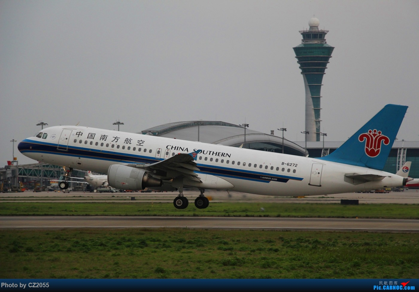 Re:[原创]Re:[原创]【广东青少年拍机小队】【C-Z-2055】一个下午的起起落落[20pics] 更新中... AIRBUS A320-200 B-6272 中国广州白云国际机场