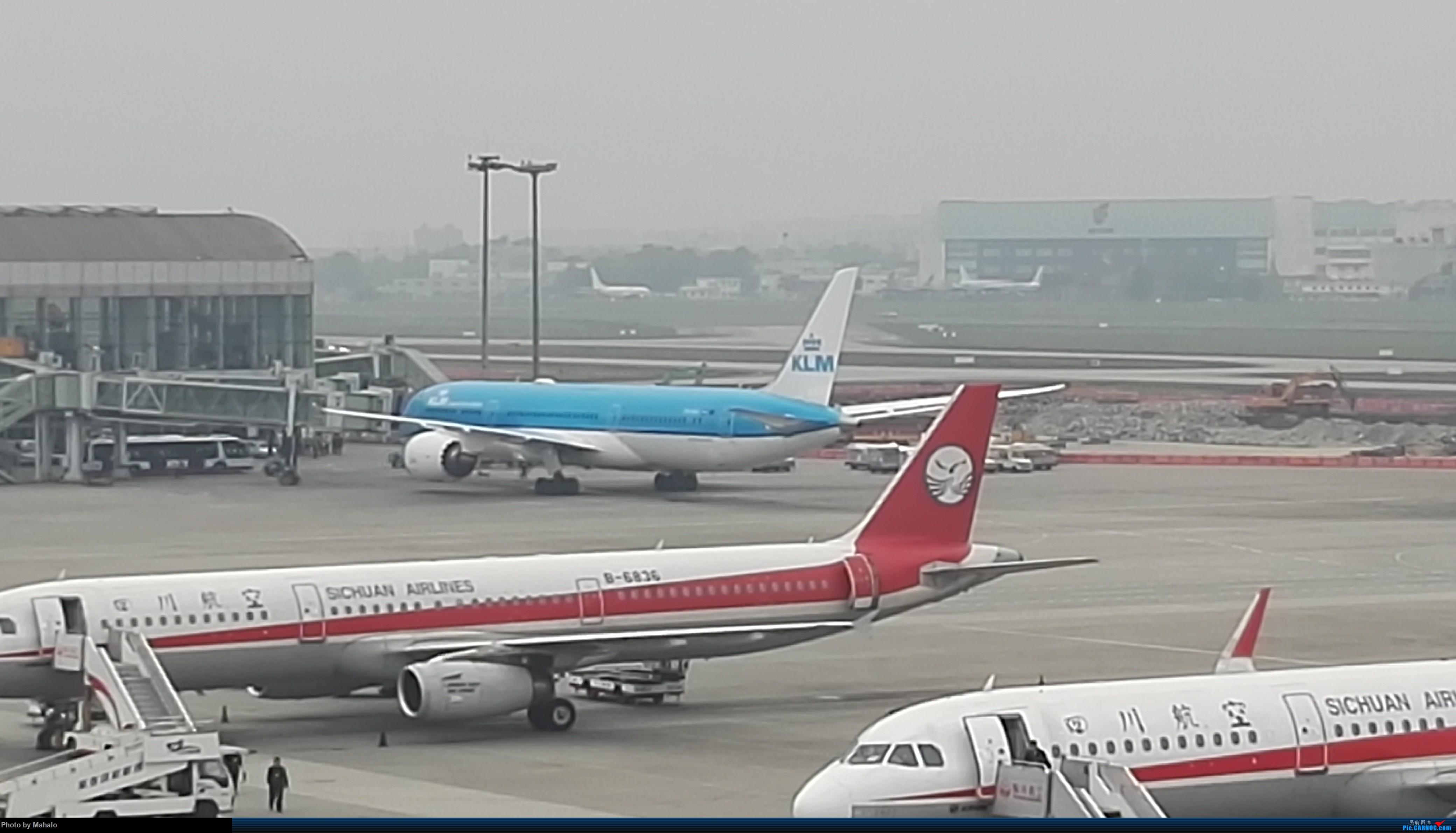 Re:[原创]渣天渣图手机远距离拍摄勿喷!!!荷航789首飞TU BOEING 787-9 PH-BHA CTU