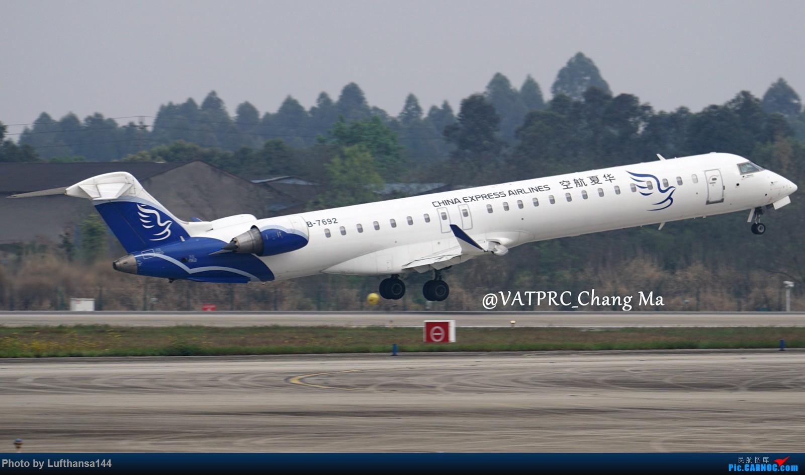 Re:[原创]CTU周末拍机小结 BOMBARDIER CRJ900NG B-7692 中国成都双流国际机场