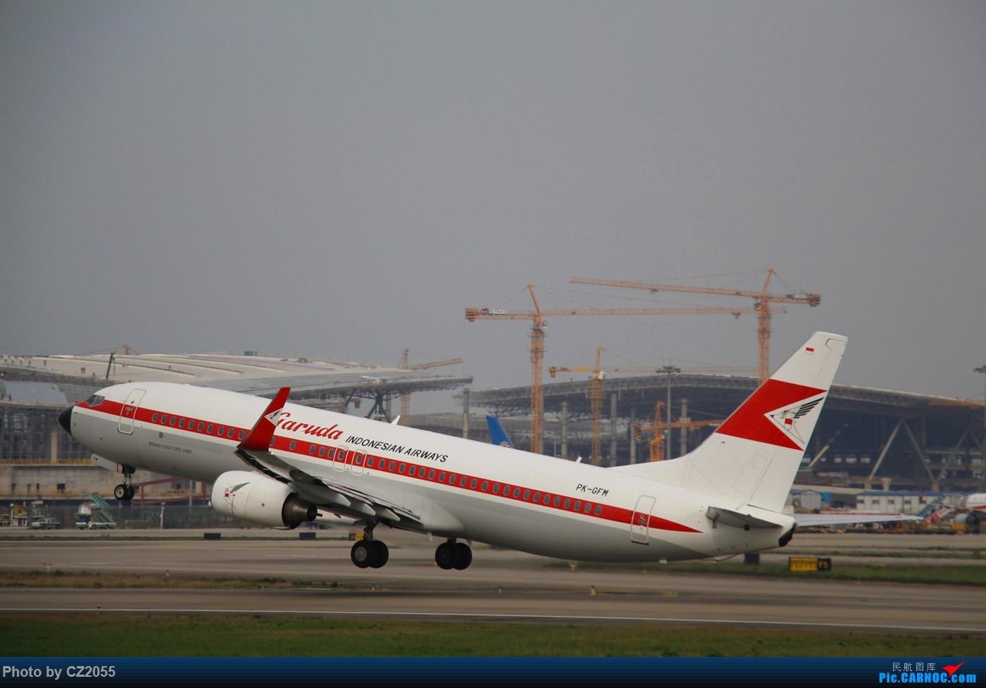 Re:[原创]Re:[原创]【广东青少年拍机小队】【C-Z-2055】一个下午的起起落落[20pics] 更新中... BOEING 737-800 PK-GFM 中国广州白云国际机场