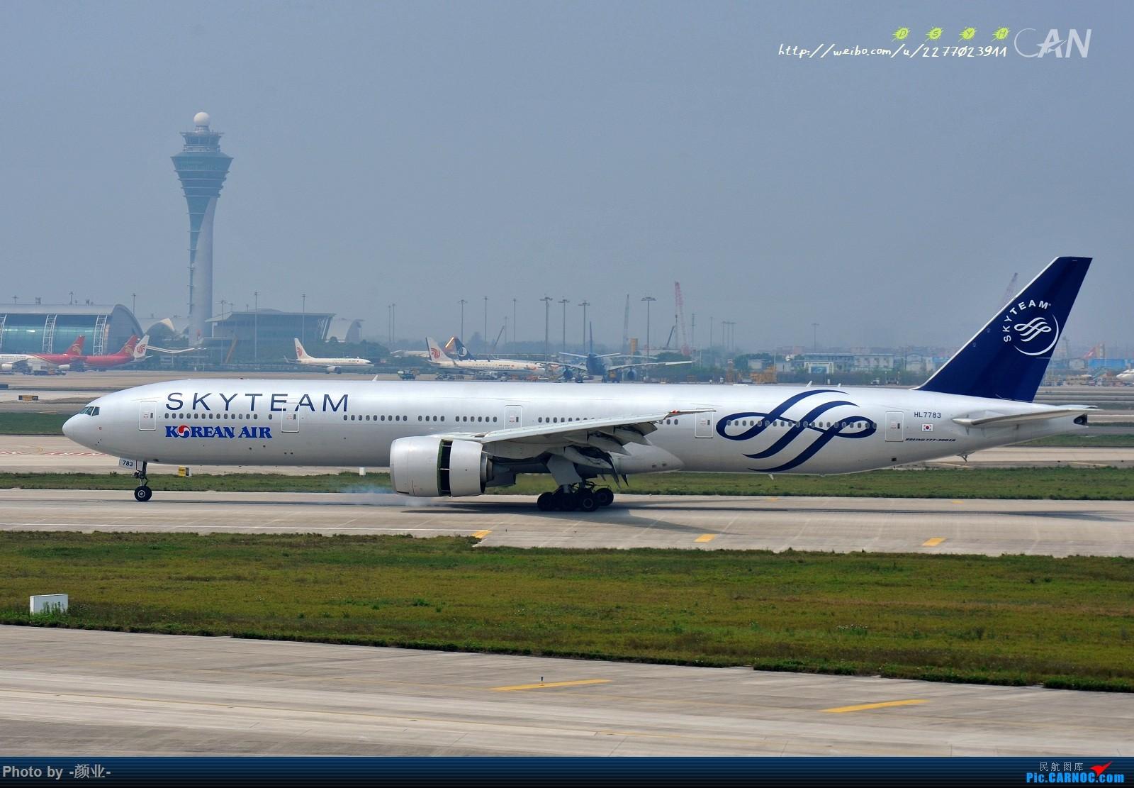 Re:[原创]ZGGG(广州CAN)的波音777系列-继续更新 BOEING 757-300 HL-7783 中国广州白云国际机场
