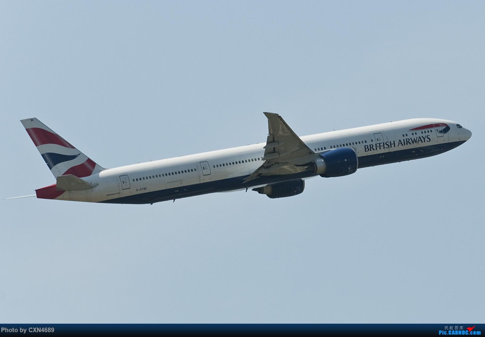 Re:[原创]PVG好天气之N250试镜:A388德胖~(附送几张杂图) BOEING 777-300ER G-STBI 中国上海浦东国际机场