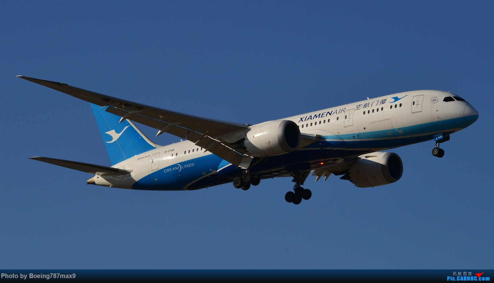 Re:[原创]【PEK】春风送走了雾霾,也带来了两个蛋壳——汉莎748、厦航788 BOEING 787-8 B-2768 中国北京首都国际机场