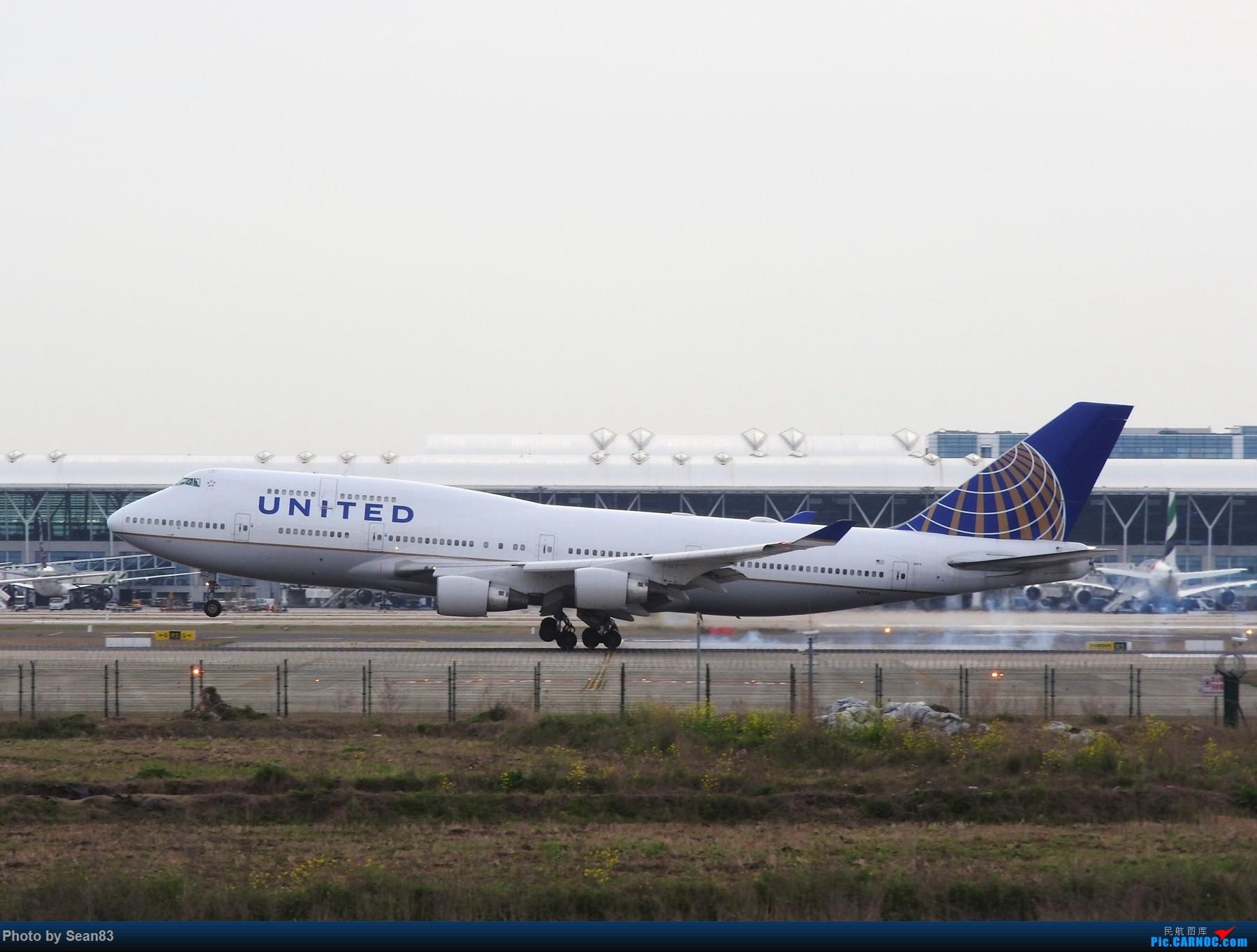Re:[原创](上海飞友会) 小白一路走来 BOEING 747-400 N174UA 上海浦东机场