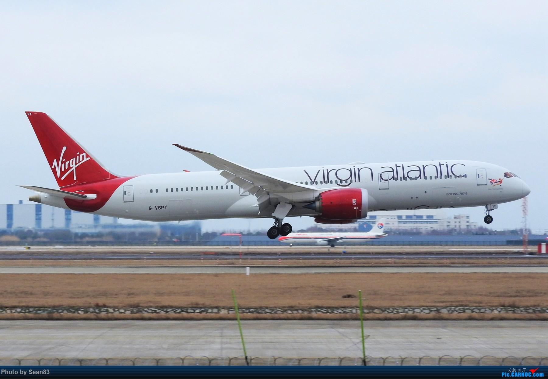 Re:[原创](上海飞友会) 小白一路走来 BOEING 787-9 G-VSPY 上海浦东机场