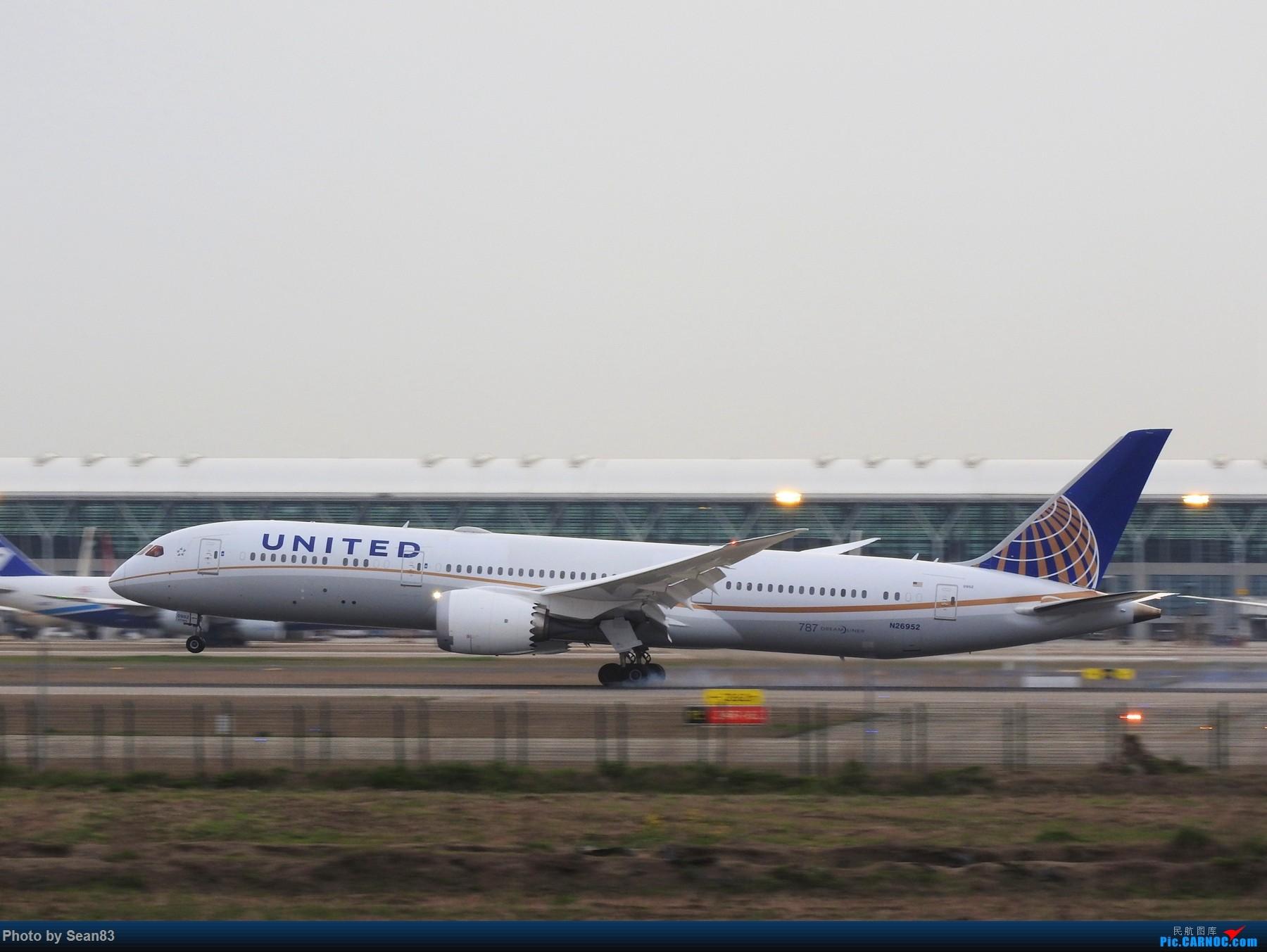 Re:[原创](上海飞友会) 小白一路走来 BOEING 787-9 N26952 上海浦东机场