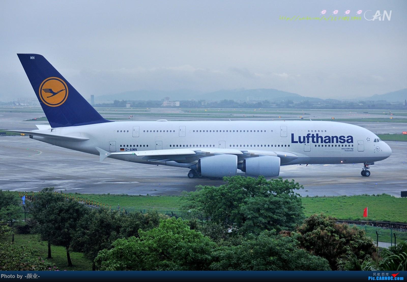Re:[原创]2011-2016我的打灰机心情[广州] AIRBUS A380-800 D-AIMN 中国广州白云国际机场