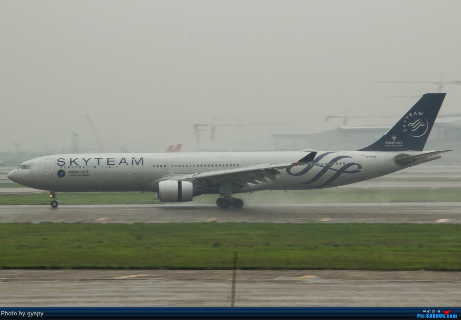 [原创]白云戏水 画质已下线 AIRBUS A330-300 B-5928 中国广州白云国际机场