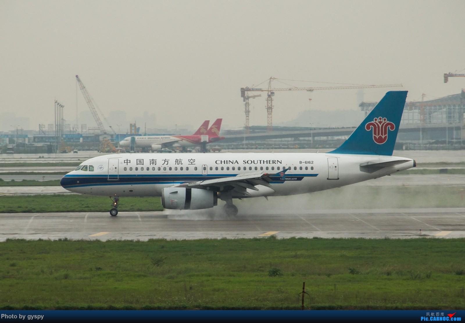 Re:[原创]白云戏水 画质已下线 AIRBUS A319-100 B-6162 中国广州白云国际机场