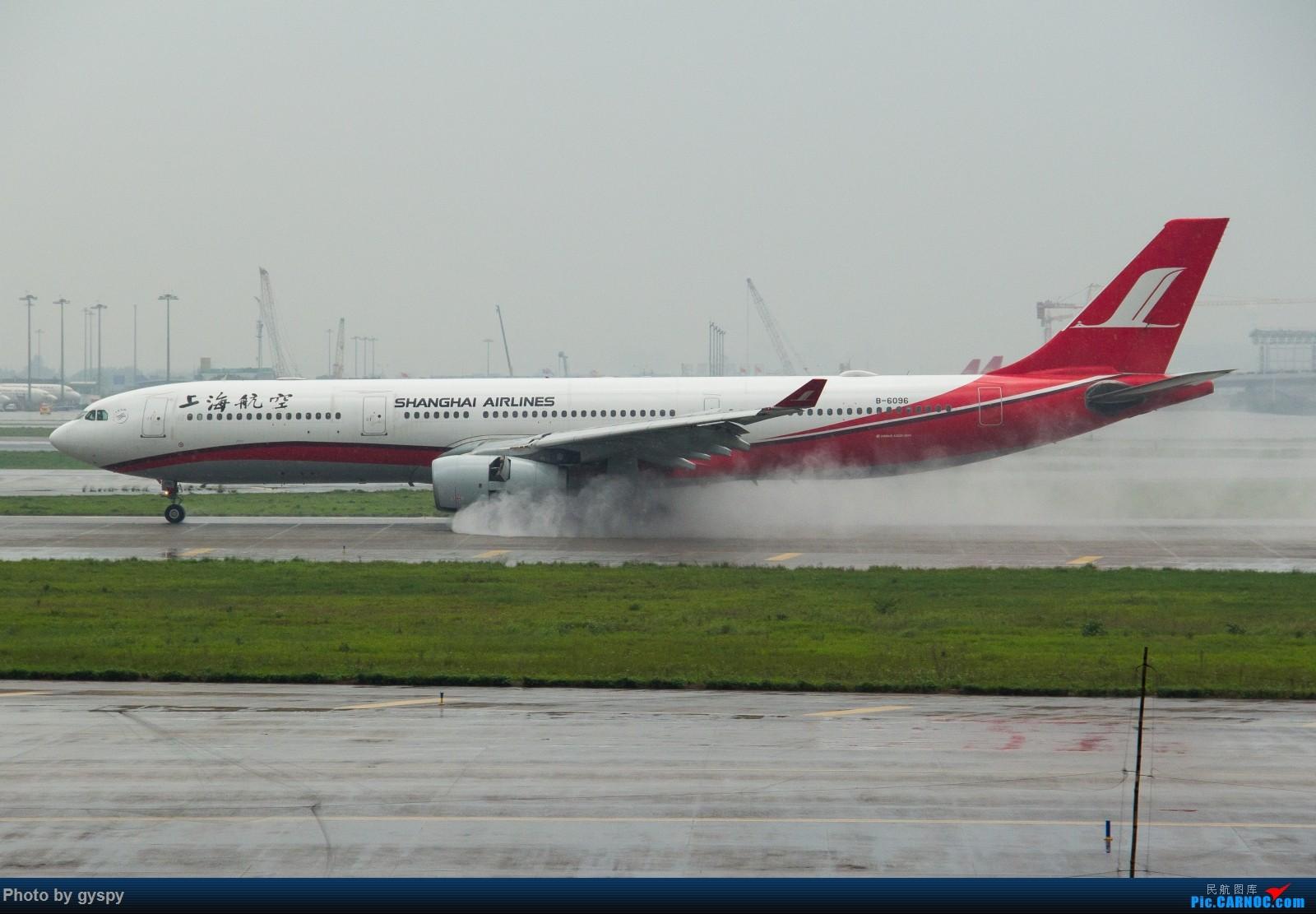 Re:[原创]白云戏水 画质已下线 AIRBUS A330-300 B-6096 中国广州白云国际机场