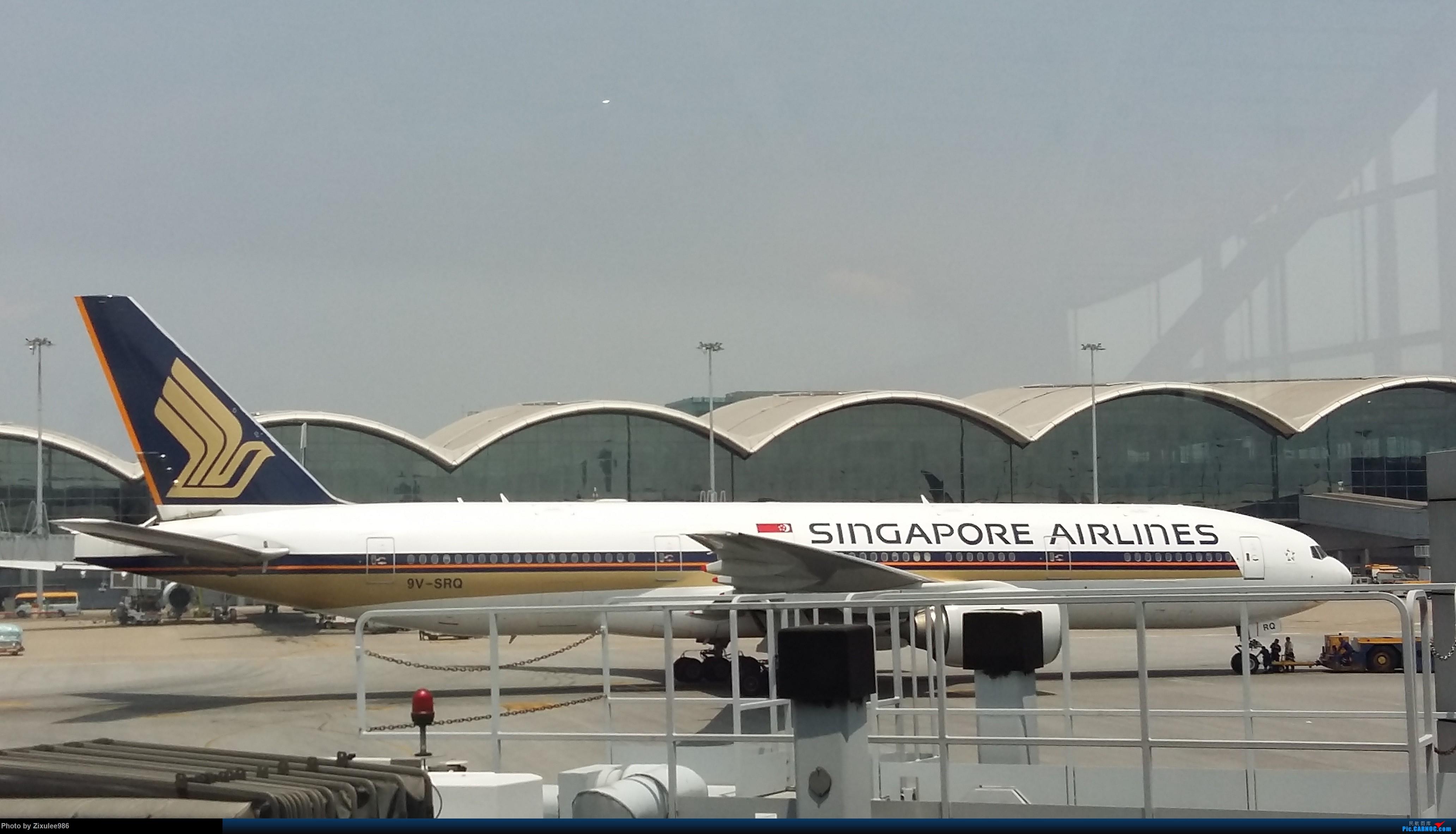 Re:[原创]来几张去年在hkg拍的图 B777-212 9V-SRQ 中国香港国际机场