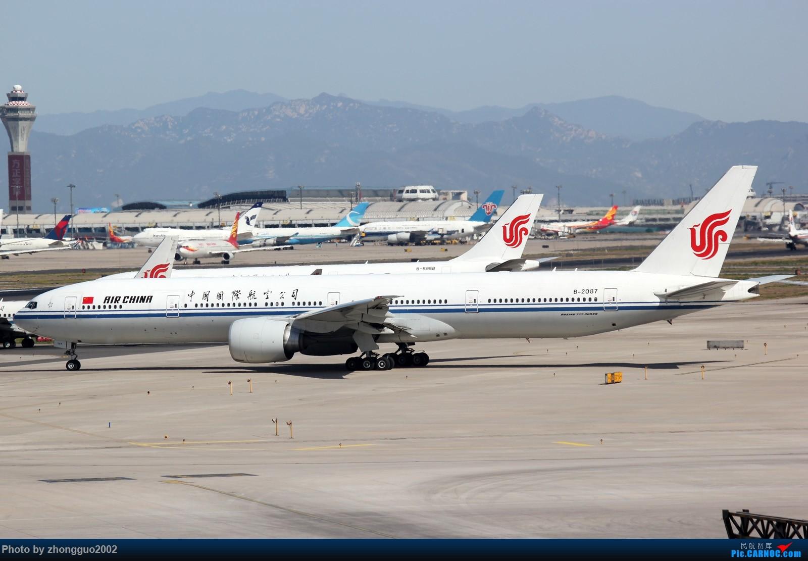[原创]北京首都机场的777 BOEING 777-300ER B-2087 中国北京首都国际机场