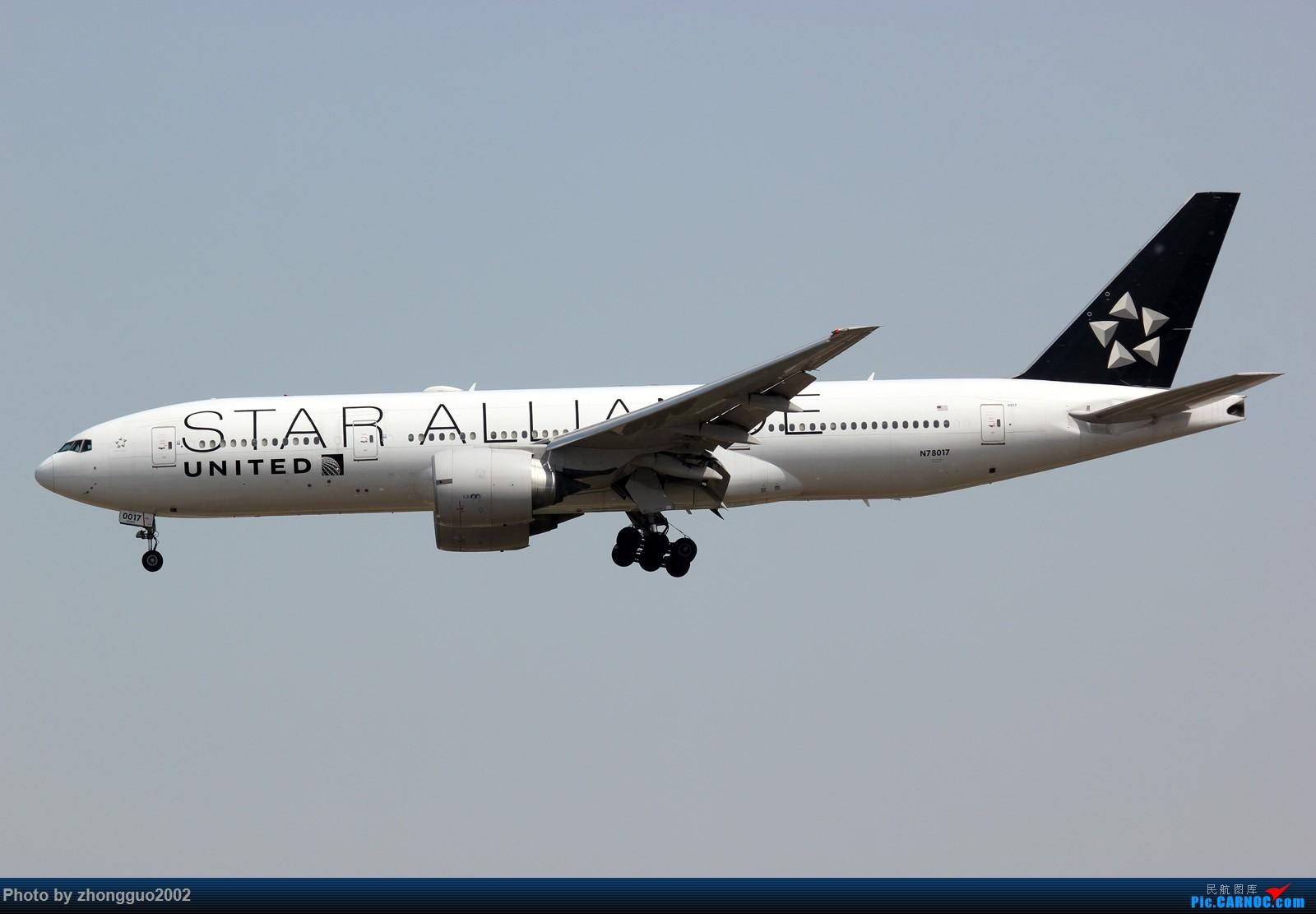 Re:北京首都机场的777 BOEING 777-200  北京