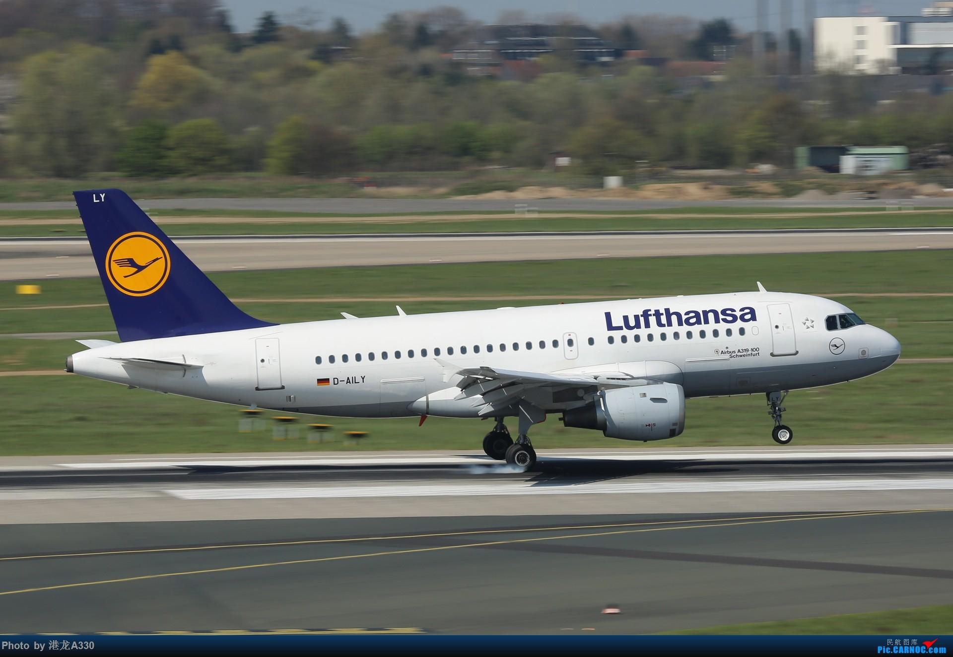 Re:[原创]今天突然就想发个帖 AIRBUS A319-100 D-AILY 德国杜塞尔多夫机场