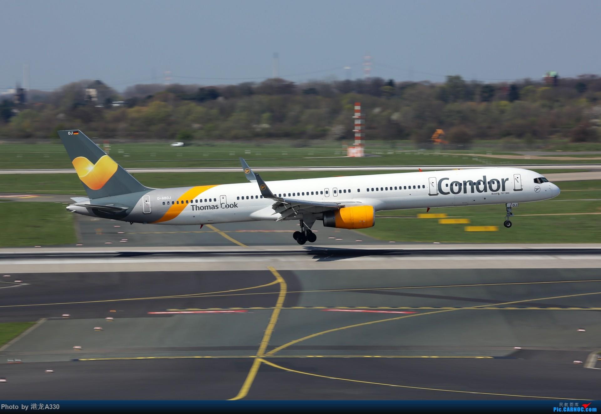Re:今天突然就想发个帖 BOEING 757-300 D-ABOJ 德国杜塞尔多夫机场