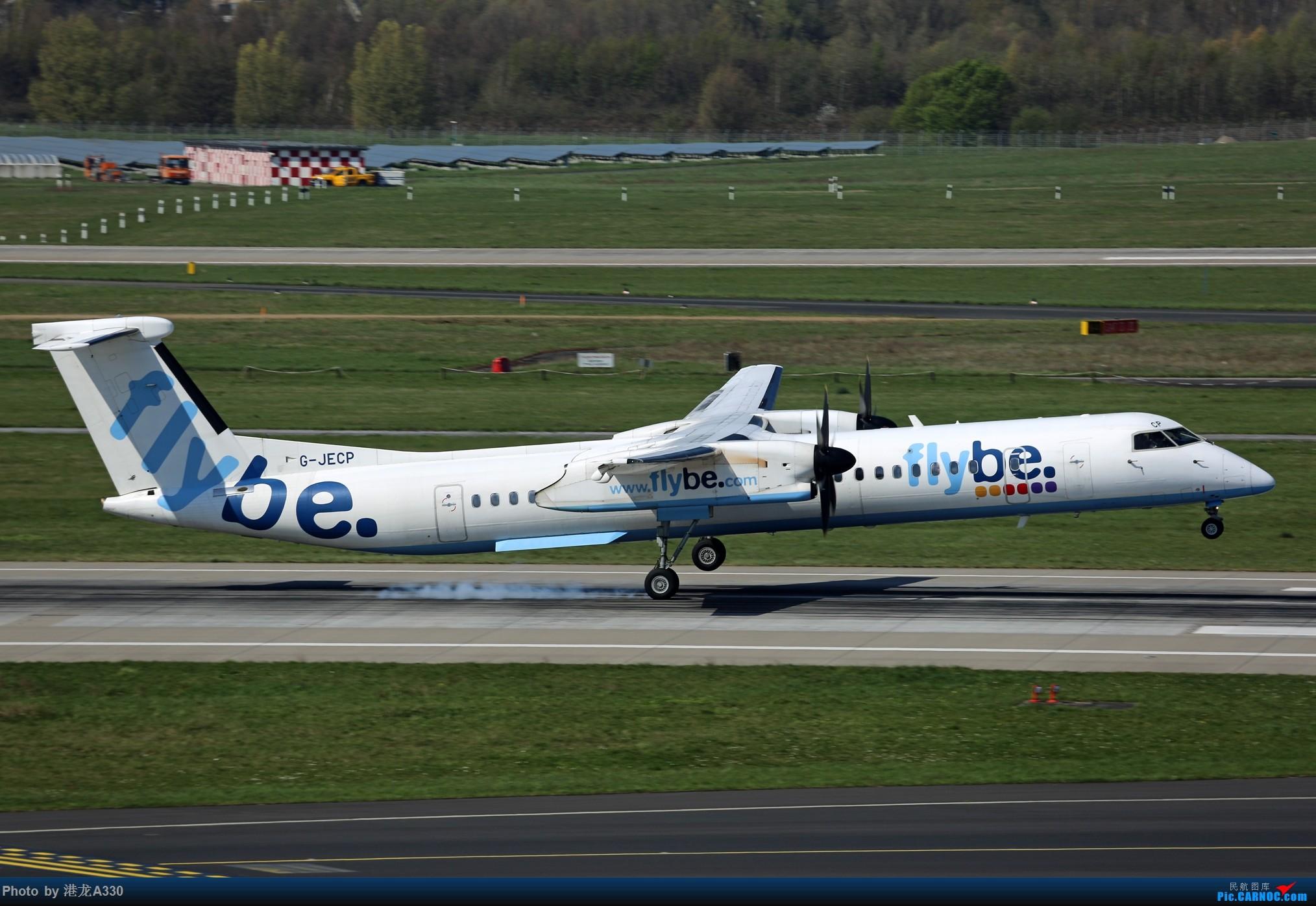 Re:[原创]今天突然就想发个帖 BOMBARDIER DASH 8-Q400 G-JECP 德国杜塞尔多夫机场
