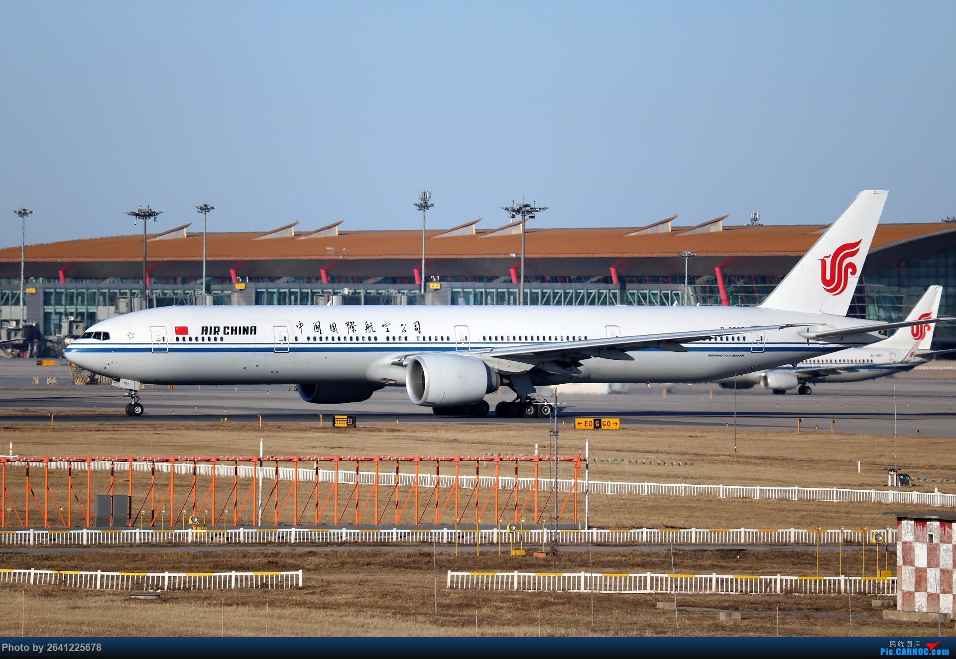[原创]没事儿修个图 BOEING 777-300ER B-2087 中国北京首都国际机场