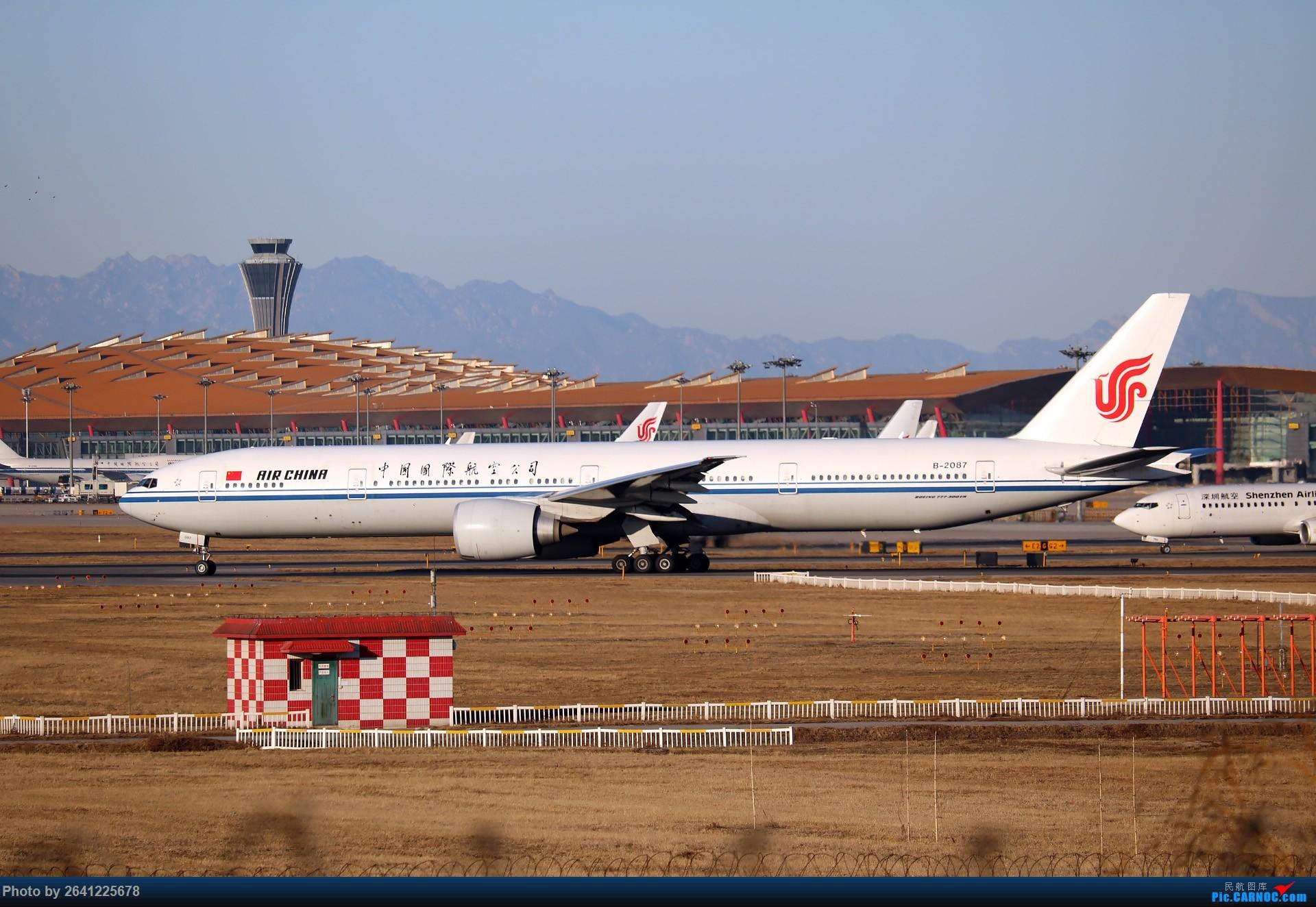 Re:没事儿修个图 BOEING 777-300ER B-2087 中国北京首都国际机场