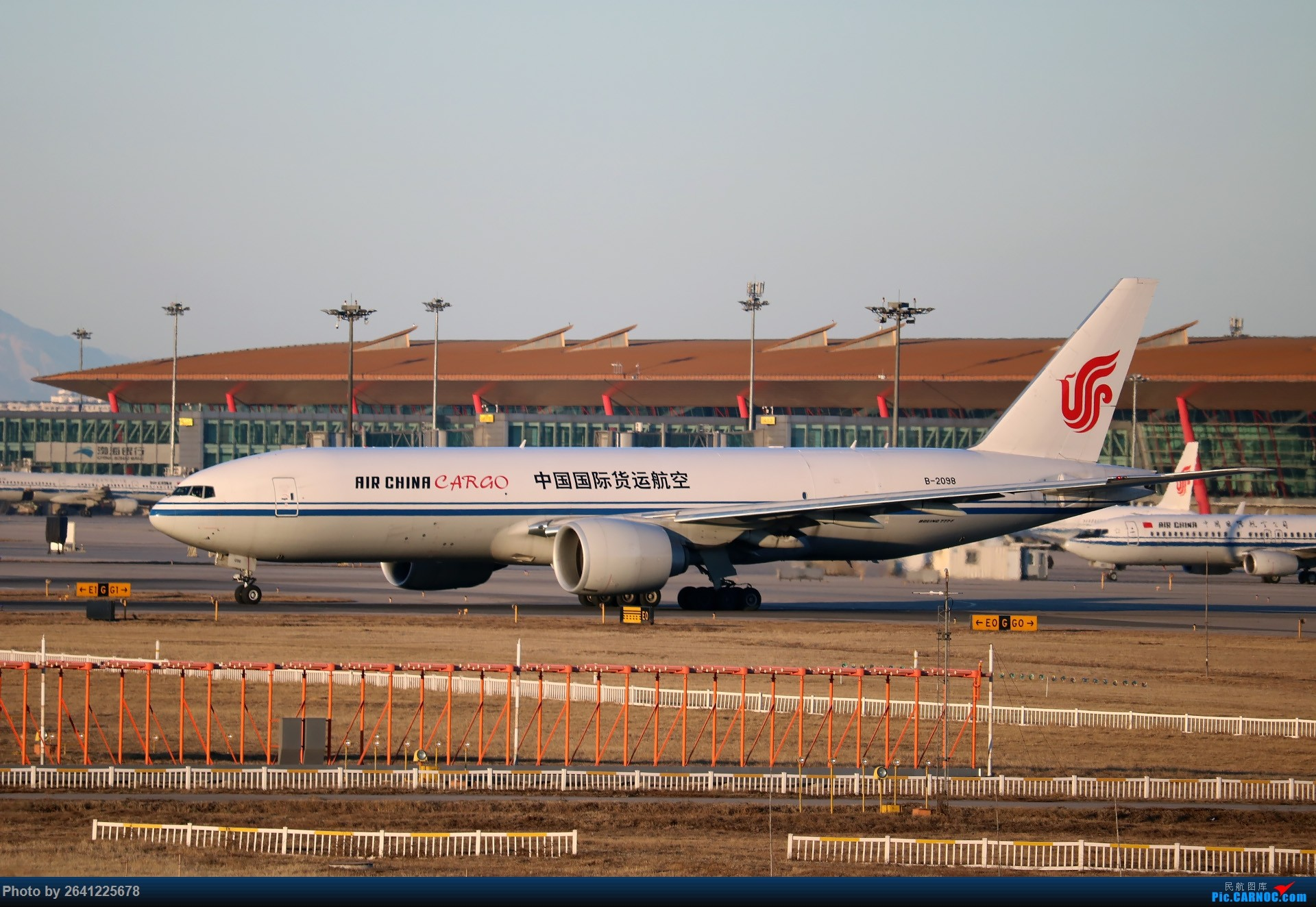 Re:[原创]没事儿修个图 BOEING 777-200 B-2098 中国北京首都国际机场