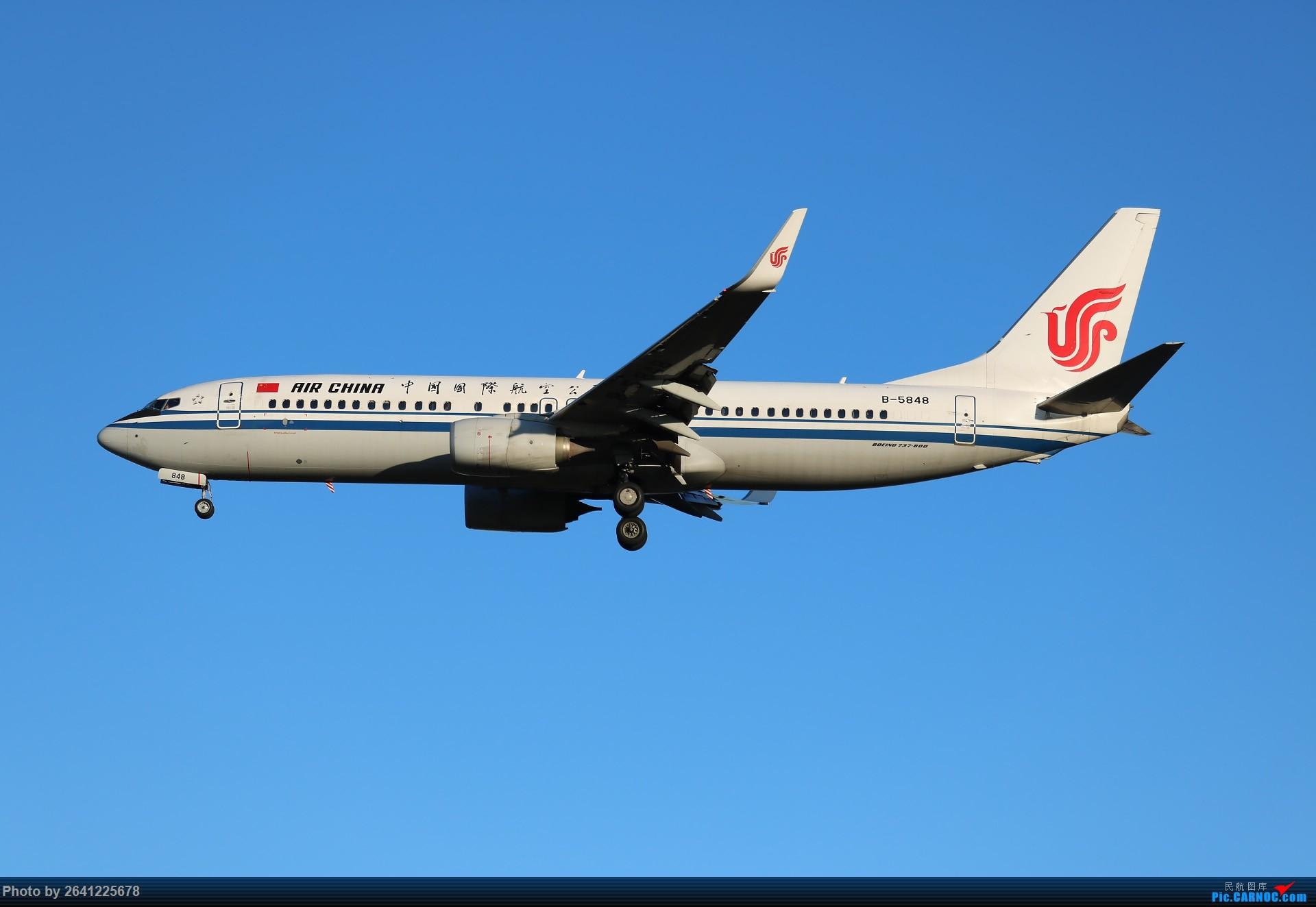 Re:[原创]没事儿修个图 BOEING 737-800 B-5848 中国北京首都国际机场